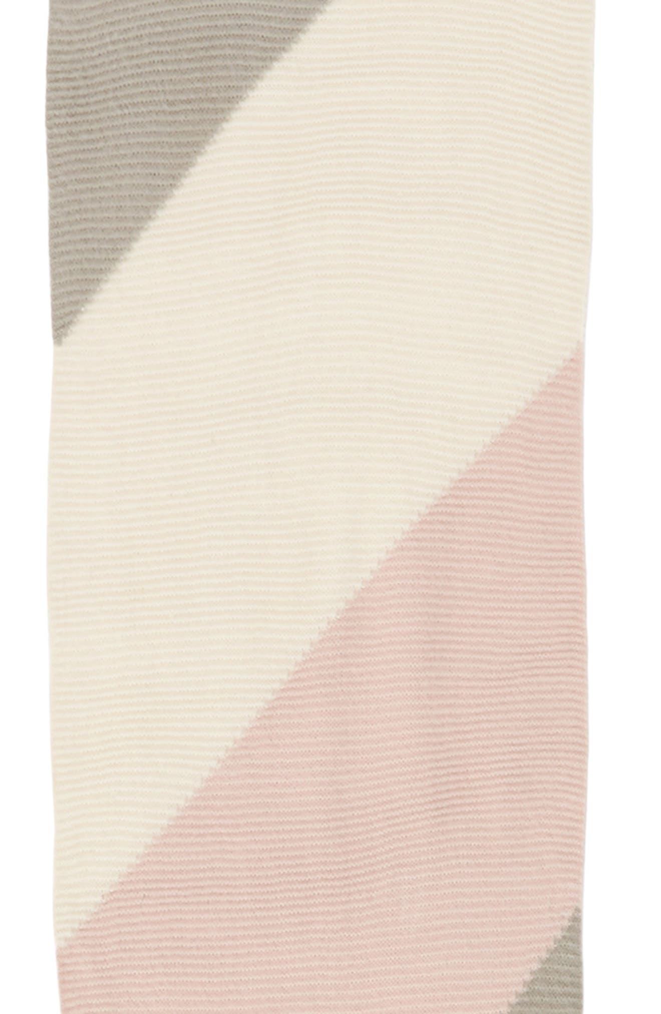 Geo Tassel Knit Scarf,                             Alternate thumbnail 4, color,
