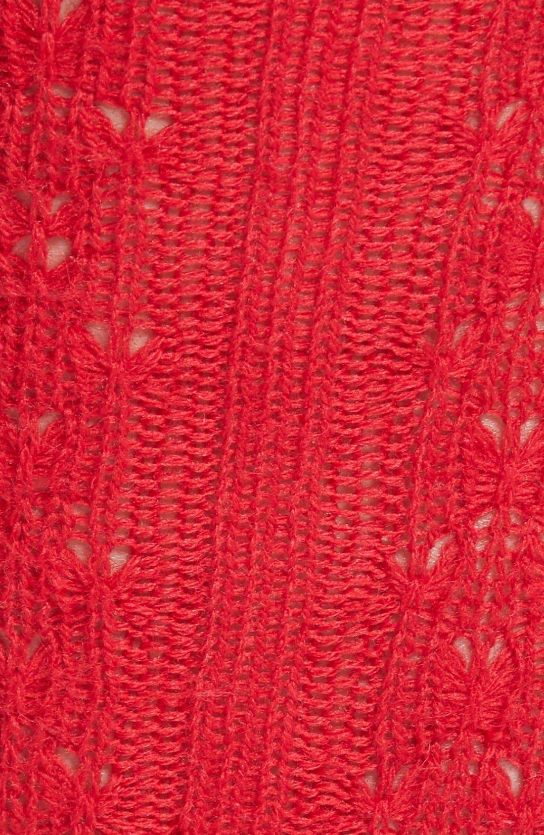 Cable Knit Knee Socks,                             Alternate thumbnail 8, color,