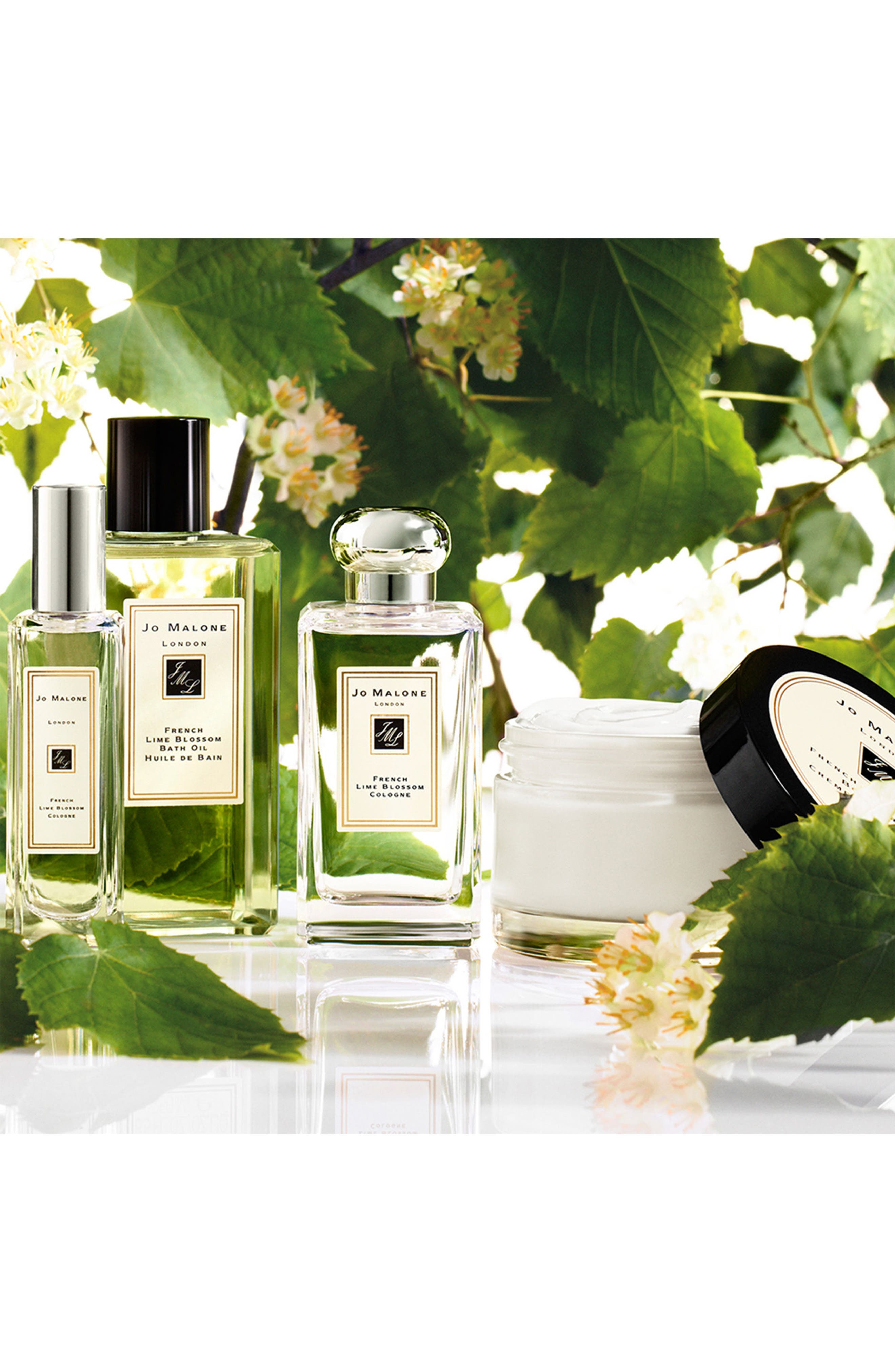 French Lime Blossom Cologne,                             Alternate thumbnail 4, color,                             000