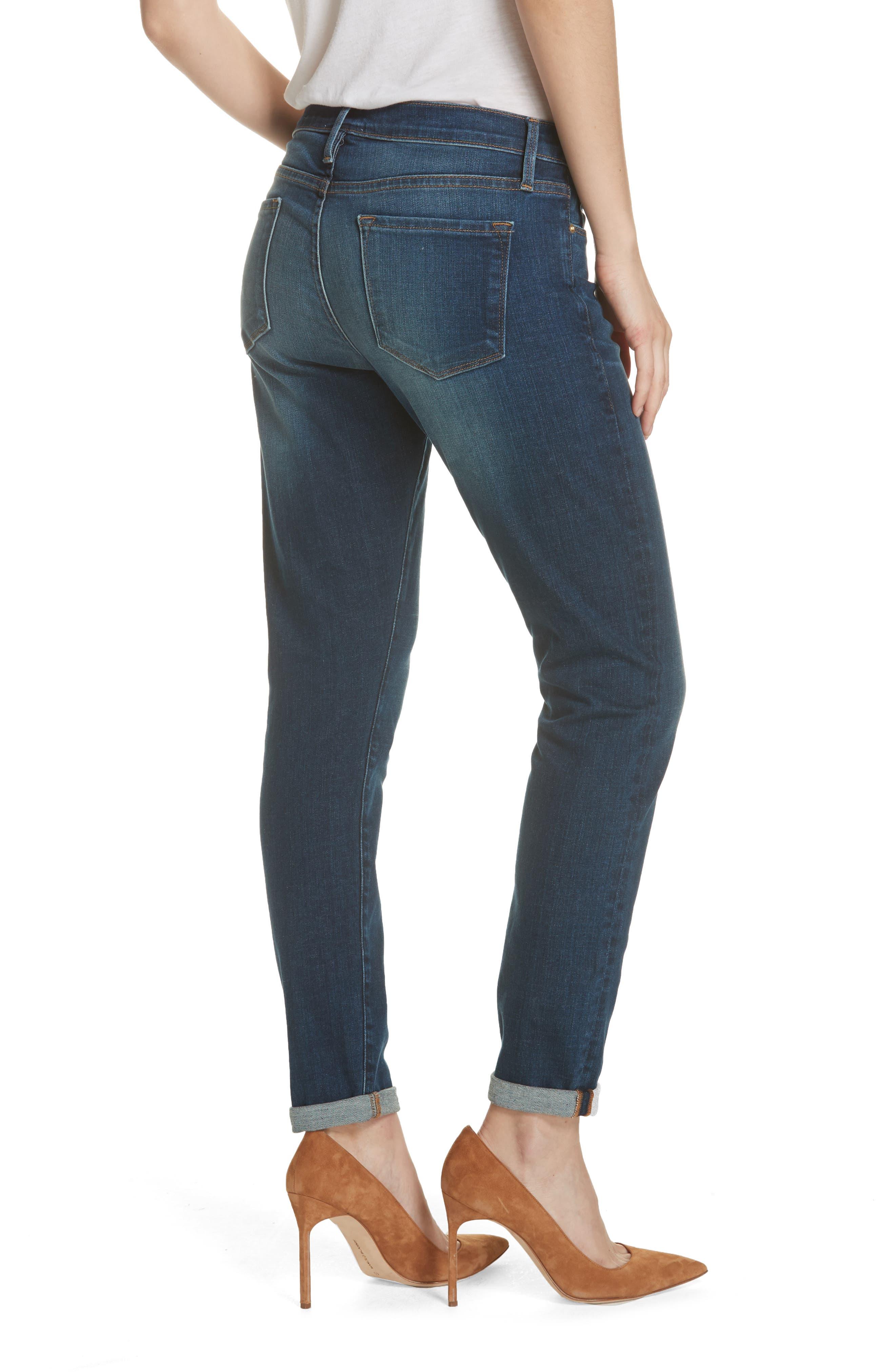 Le Garcon Slim Boyfriend Jeans,                             Alternate thumbnail 2, color,                             WESTFIELD