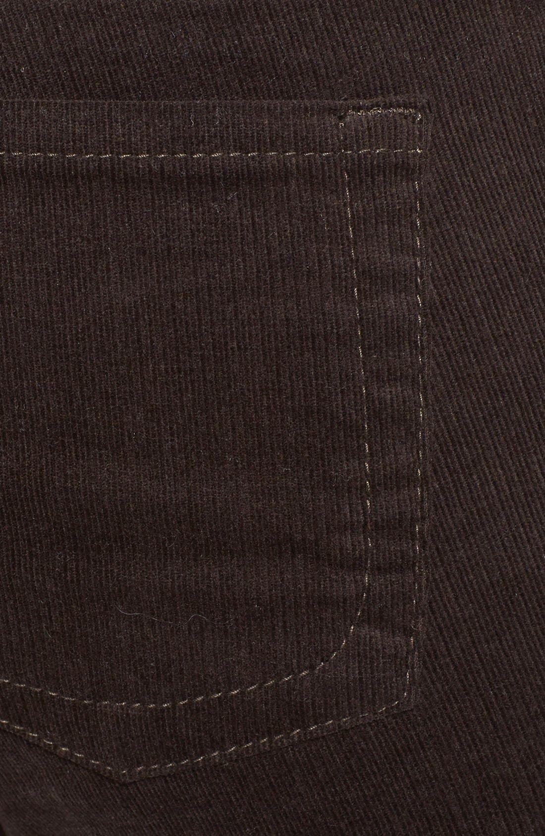 Baby Bootcut Corduroy Jeans,                             Alternate thumbnail 80, color,