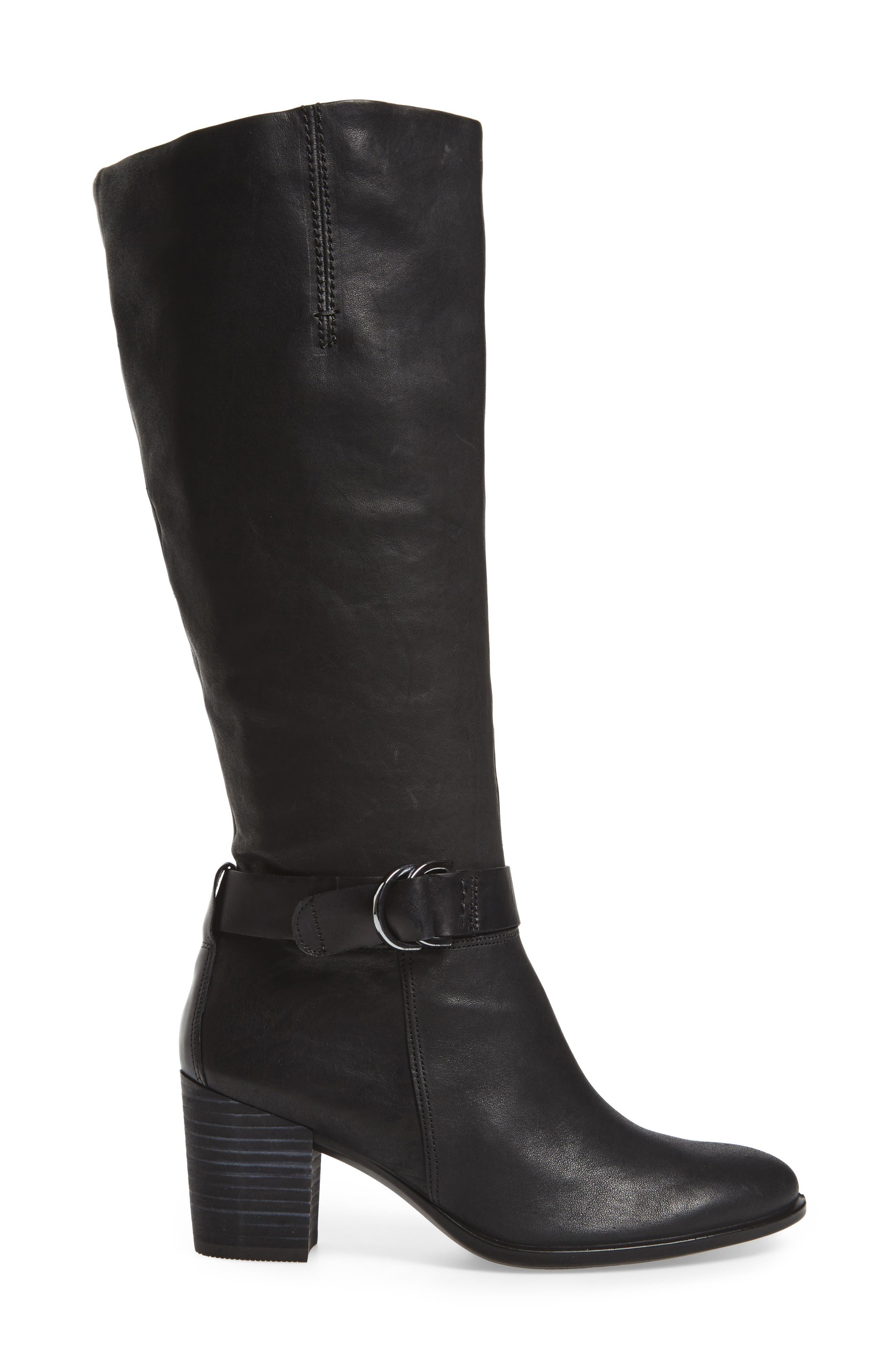 Shape 55 Tall Boot,                             Alternate thumbnail 3, color,                             001