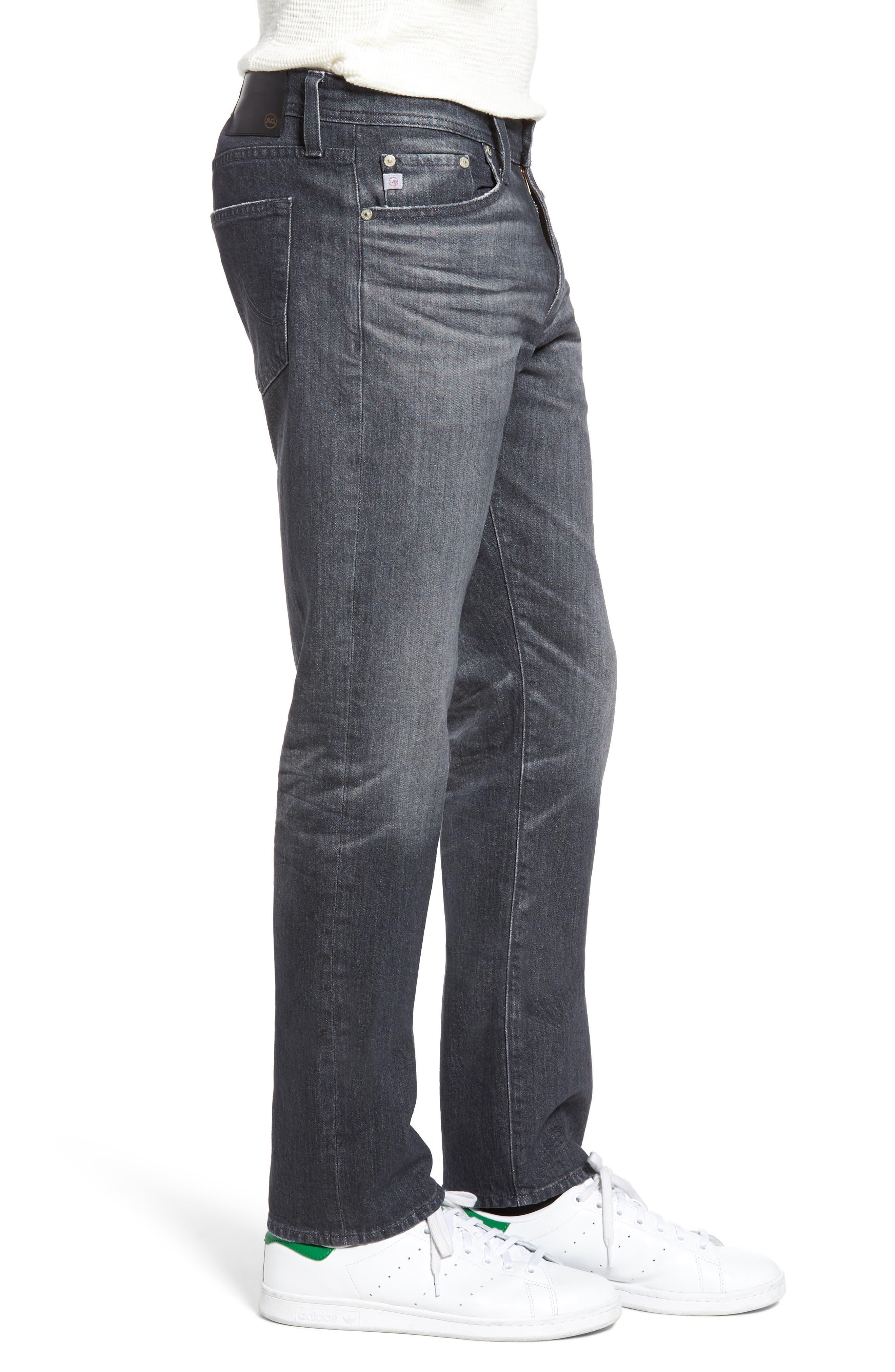 Everett Slim Straight Leg Jeans,                             Alternate thumbnail 3, color,                             023