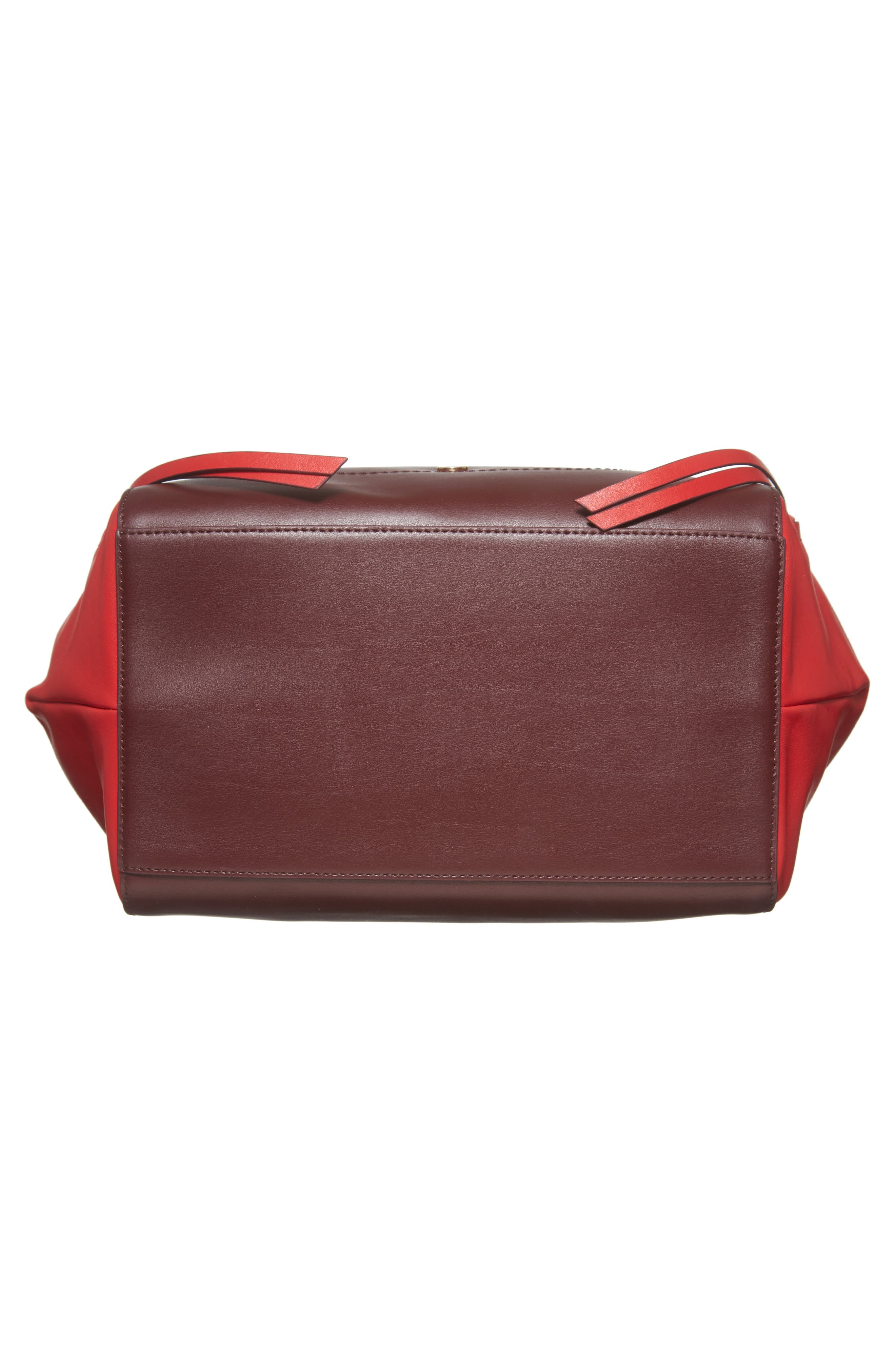 Downtown Charlize RFID Leather Tote,                             Alternate thumbnail 18, color,