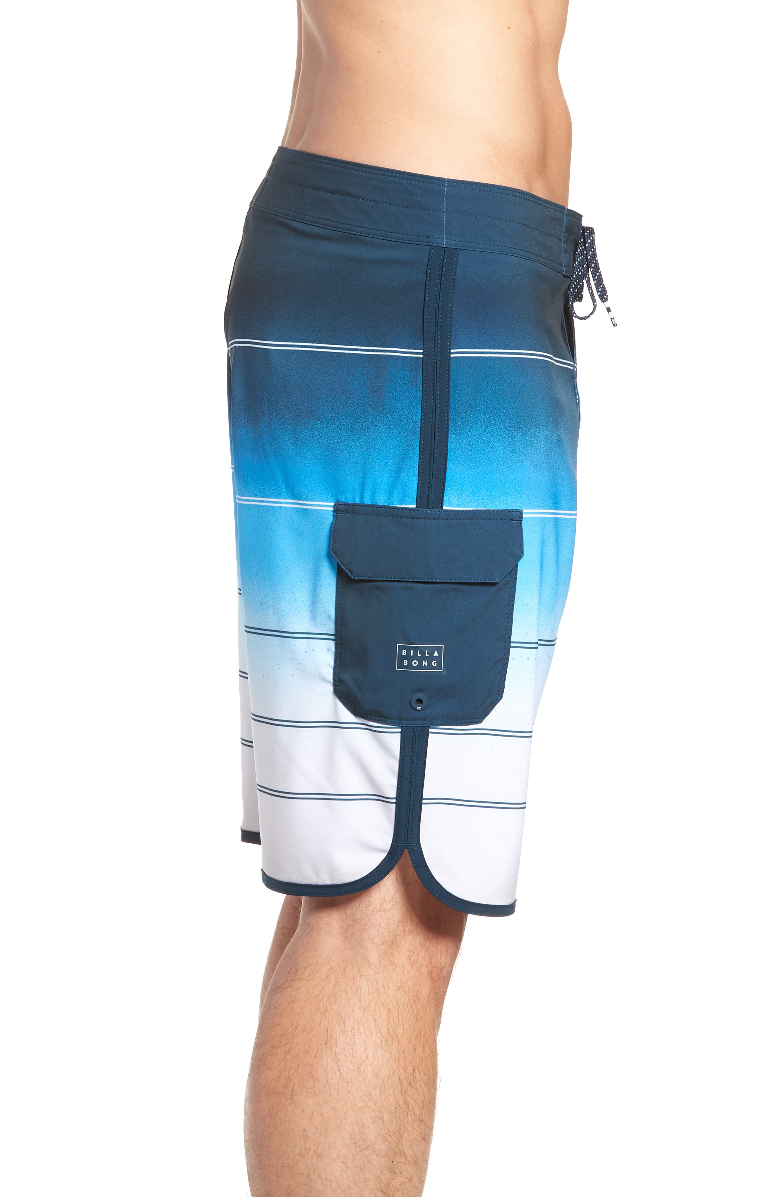 73 X Stripe Board Shorts,                             Alternate thumbnail 4, color,                             428