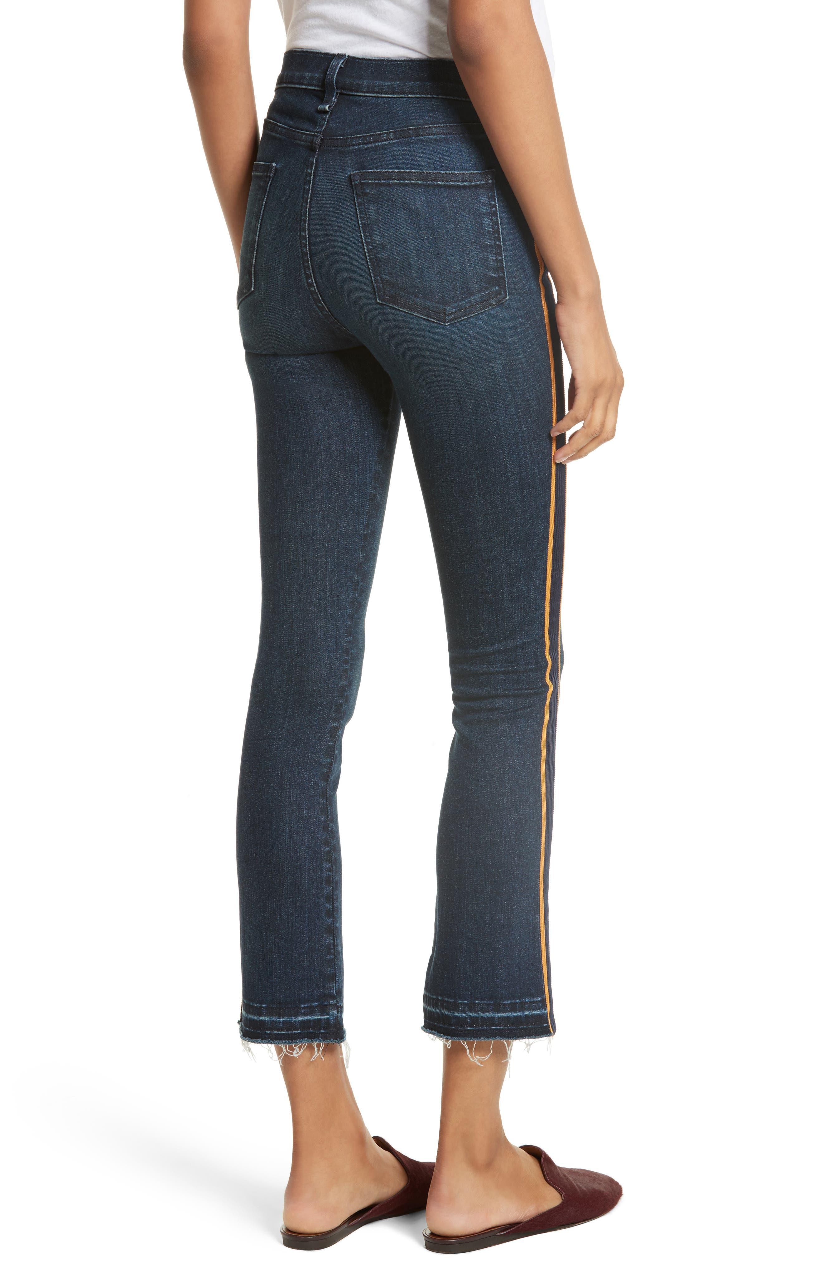 VERONICA BEARD,                             Carolyn Baby Boot Crop Jeans,                             Alternate thumbnail 2, color,                             412