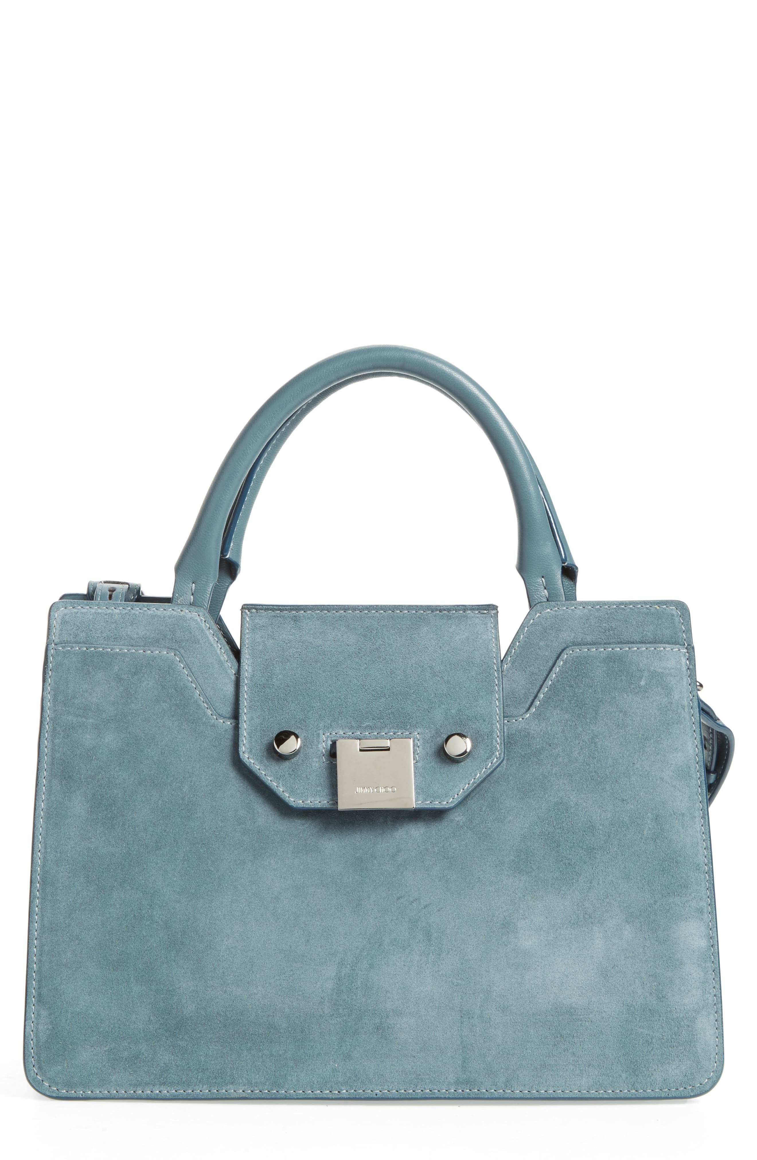 Small Rebel Suede Tote,                             Main thumbnail 1, color,                             420