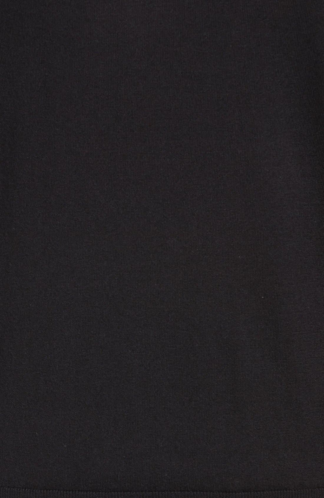 Brit Richmond Cotton & Cashmere Sweater,                             Alternate thumbnail 5, color,                             001