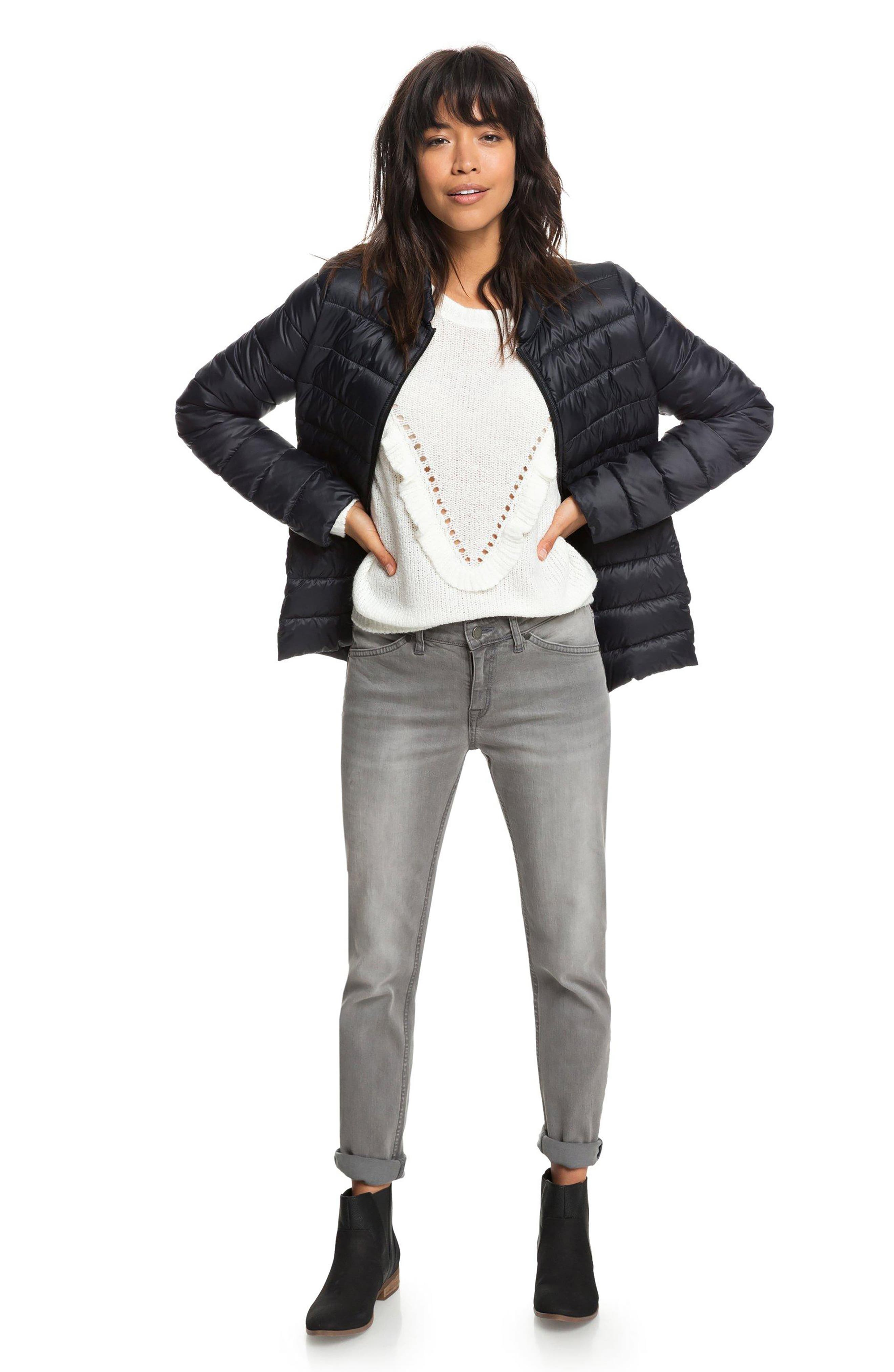 One Fine Stay Ruffle Sweater,                             Alternate thumbnail 7, color,                             MARSHMALLOW