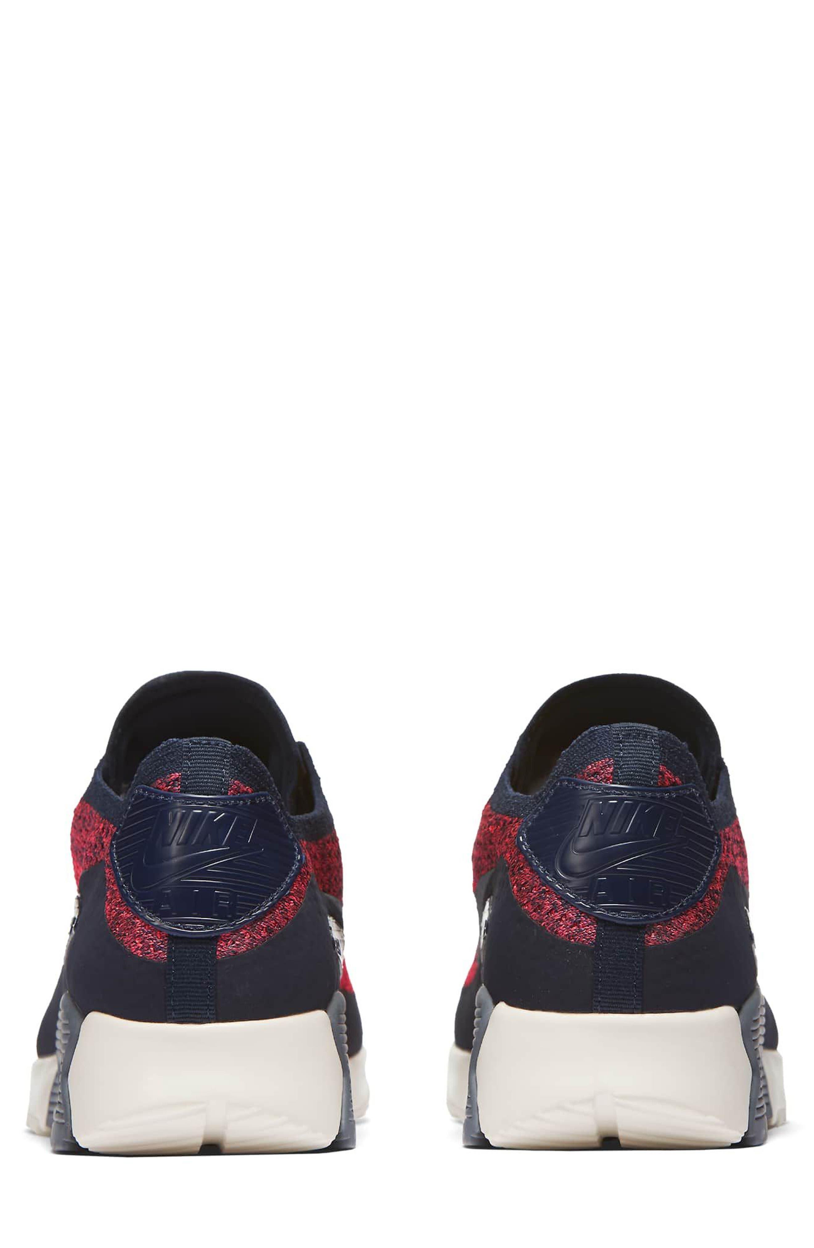 Air Max 90 Flyknit Ultra 2.0 Sneaker,                             Alternate thumbnail 6, color,