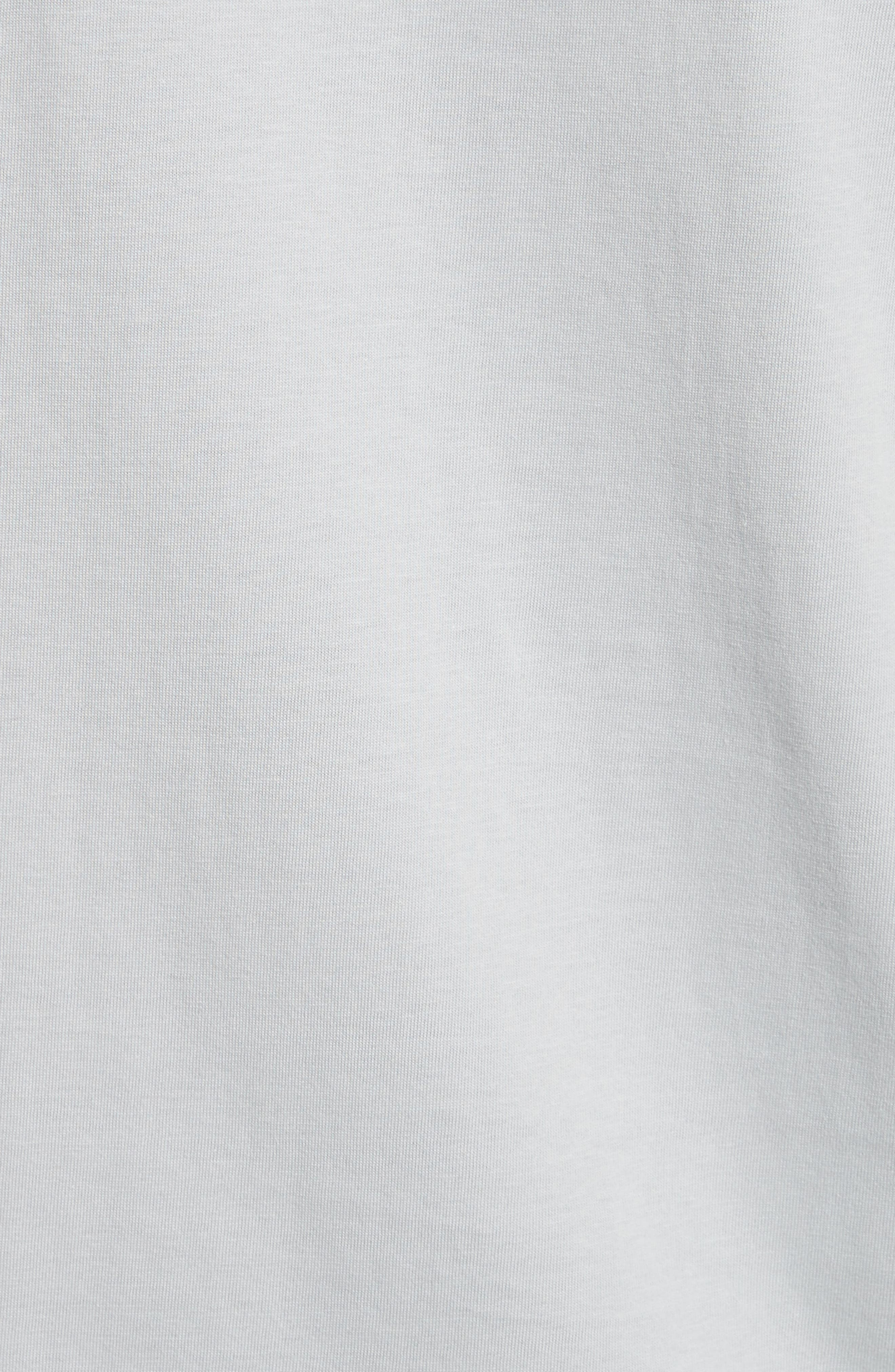 Super Condensed Logo T-Shirt,                             Alternate thumbnail 5, color,                             STONE BLUE