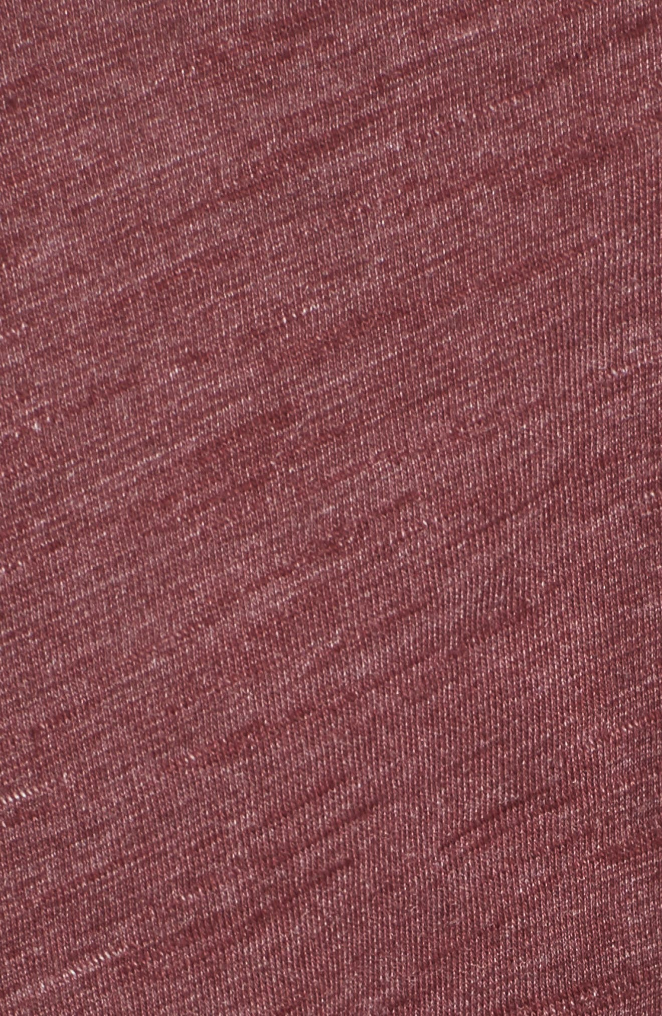 Side Tie Midi T-Shirt Dress,                             Alternate thumbnail 15, color,