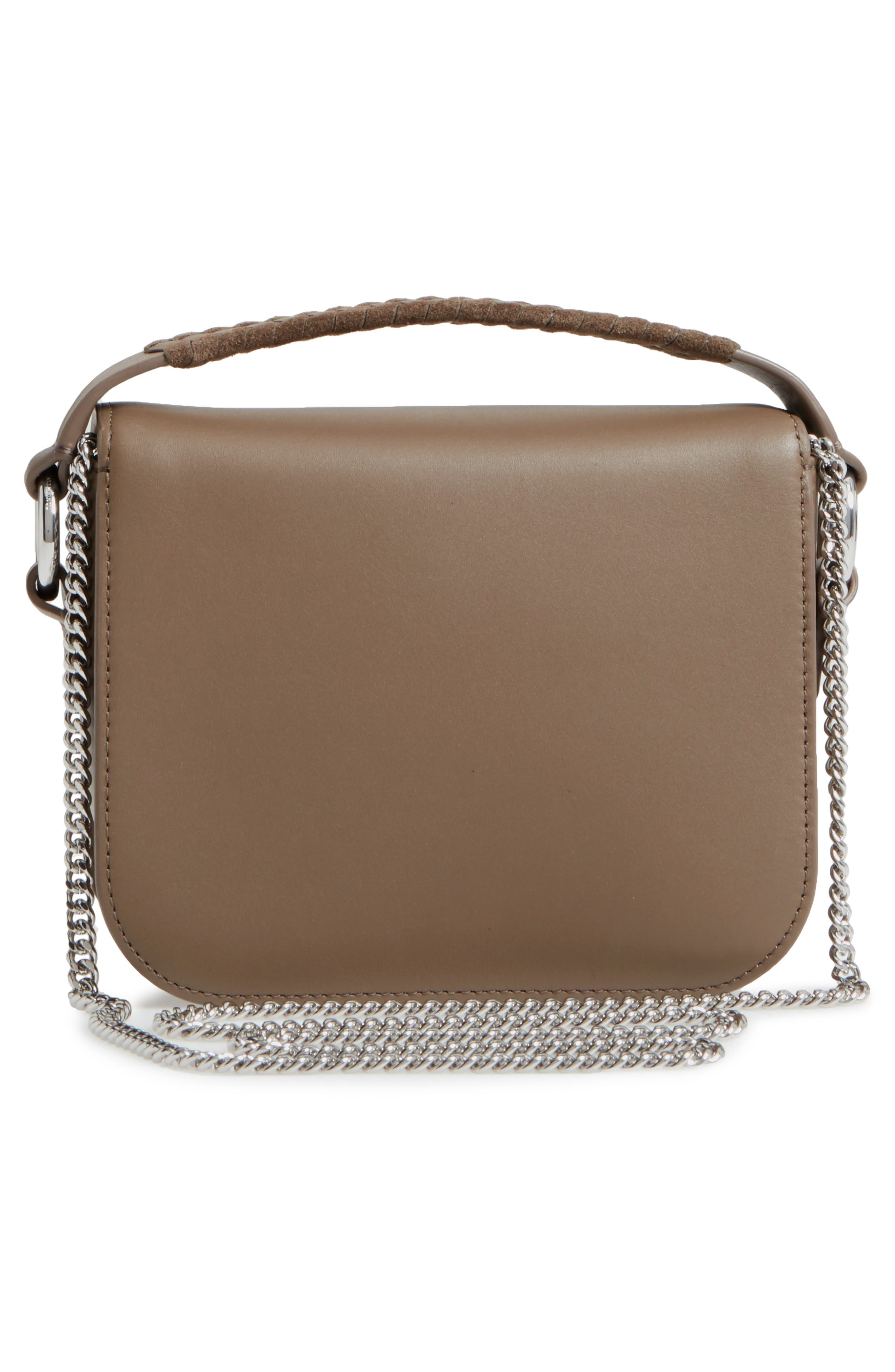 Ray Leather Clutch,                             Alternate thumbnail 3, color,                             200