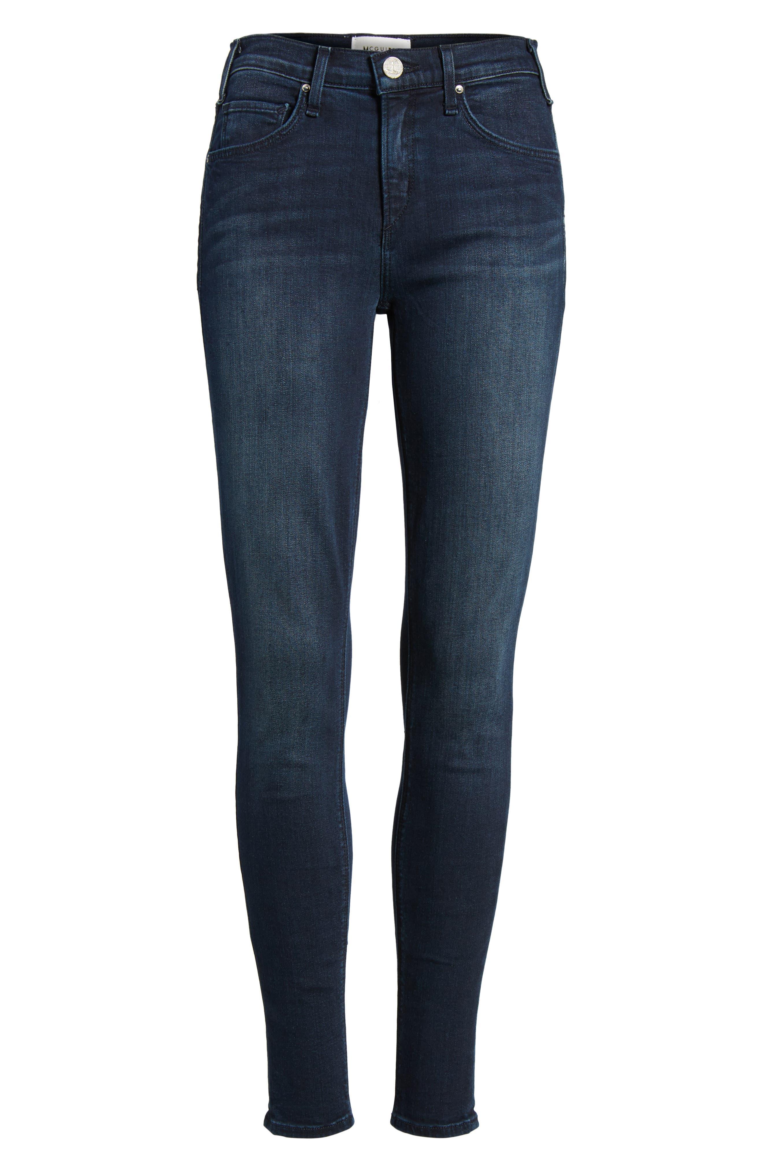 Newton Skinny Jeans,                             Alternate thumbnail 6, color,                             410
