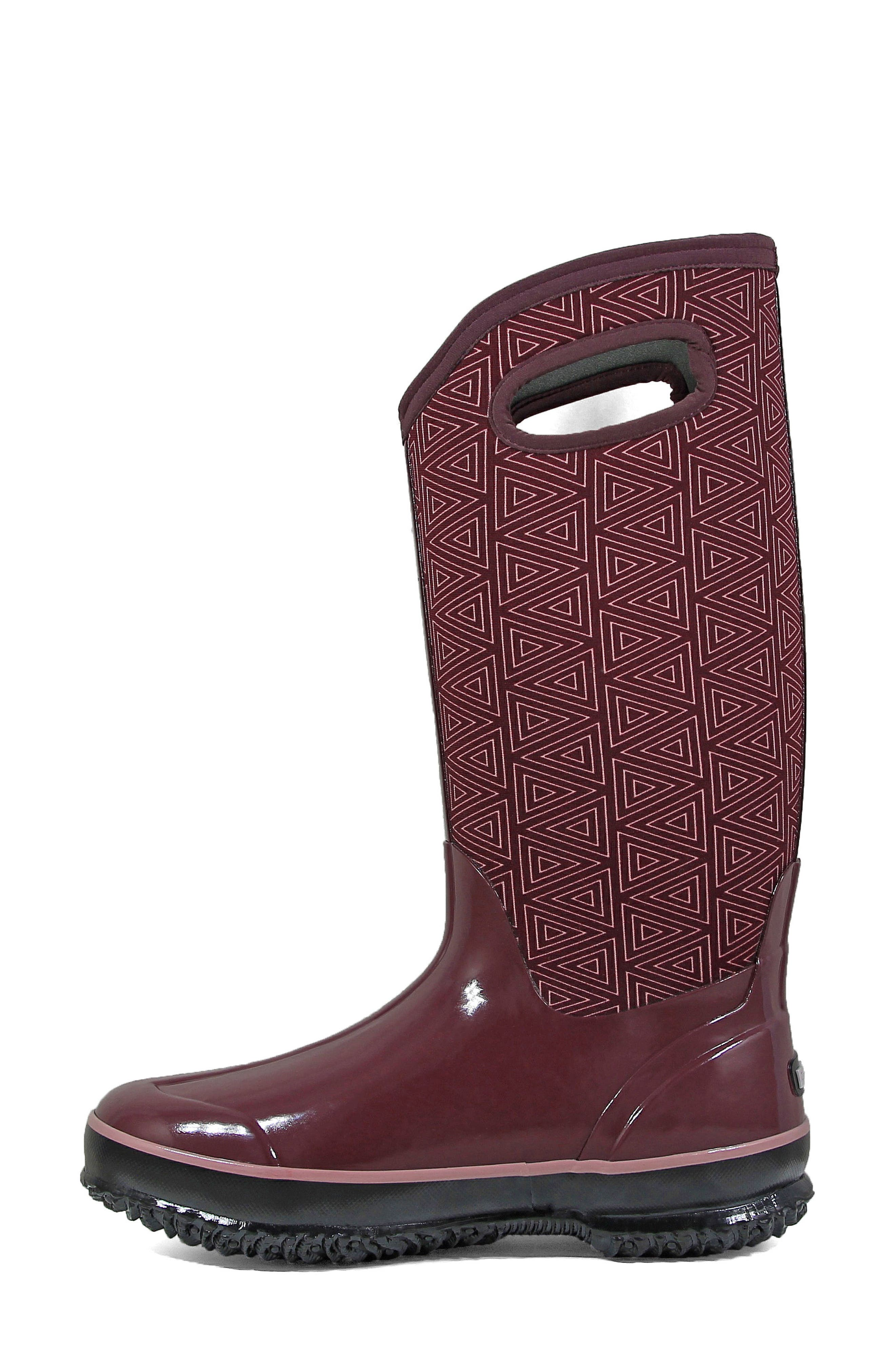 Classic Triangles Waterproof Subzero Insulated Boot,                             Alternate thumbnail 9, color,