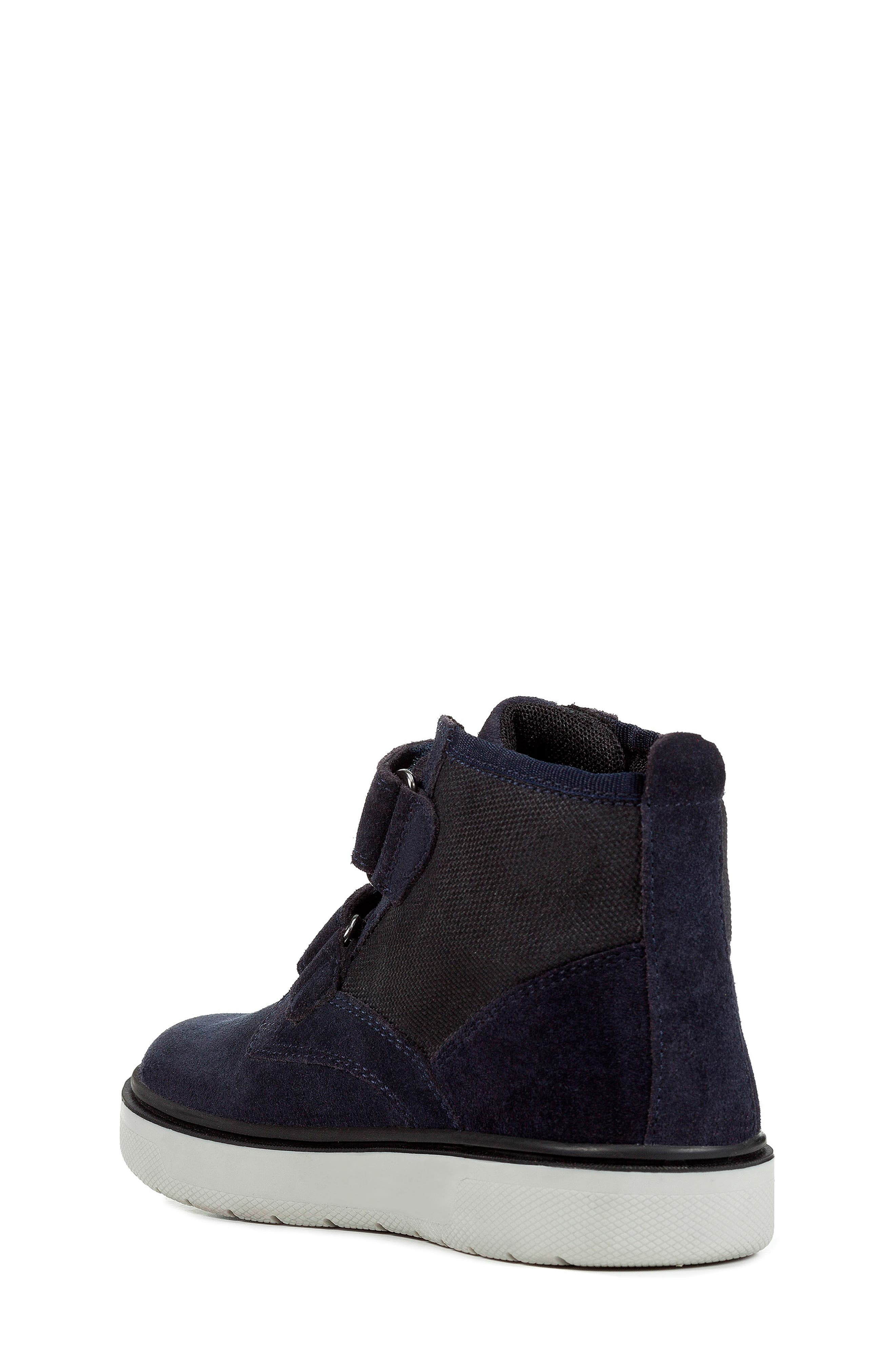 Riddock High Top Sneaker,                             Alternate thumbnail 2, color,                             NAVY/GREY