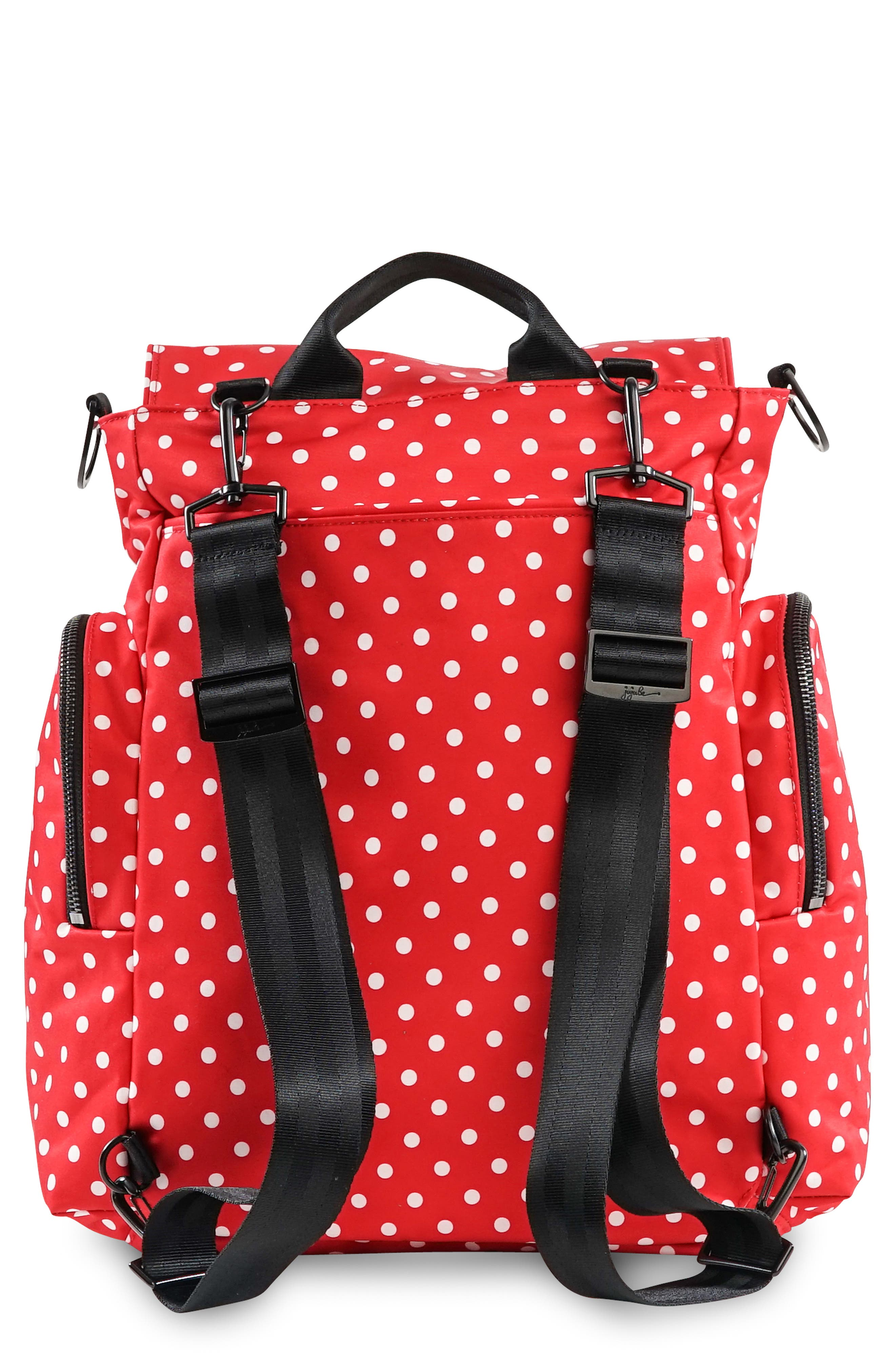 Onyx Be Sporty Diaper Backpack,                             Alternate thumbnail 2, color,                             BLACK RUBY