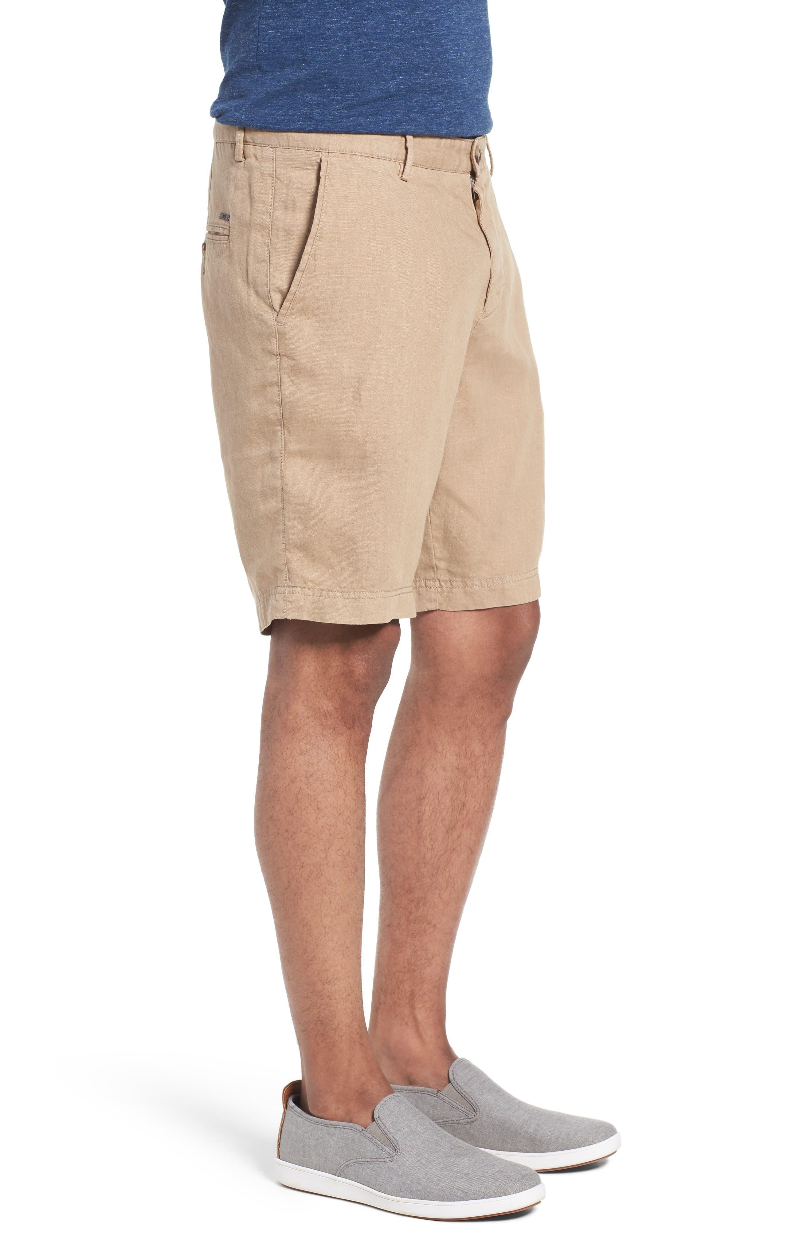 Crigan Linen Shorts,                             Alternate thumbnail 14, color,