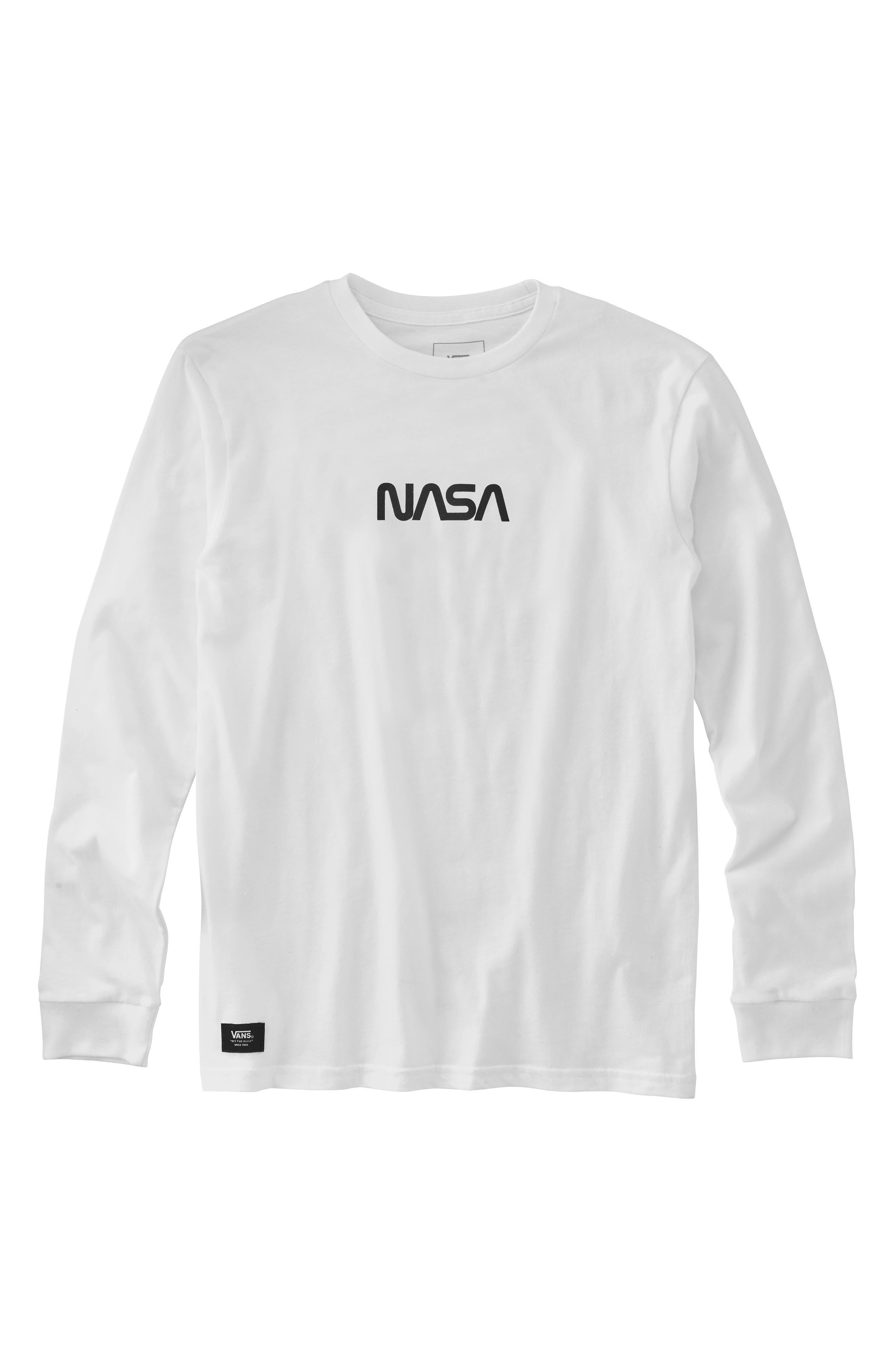 Space Graphic T-Shirt,                             Main thumbnail 1, color,                             WHITE