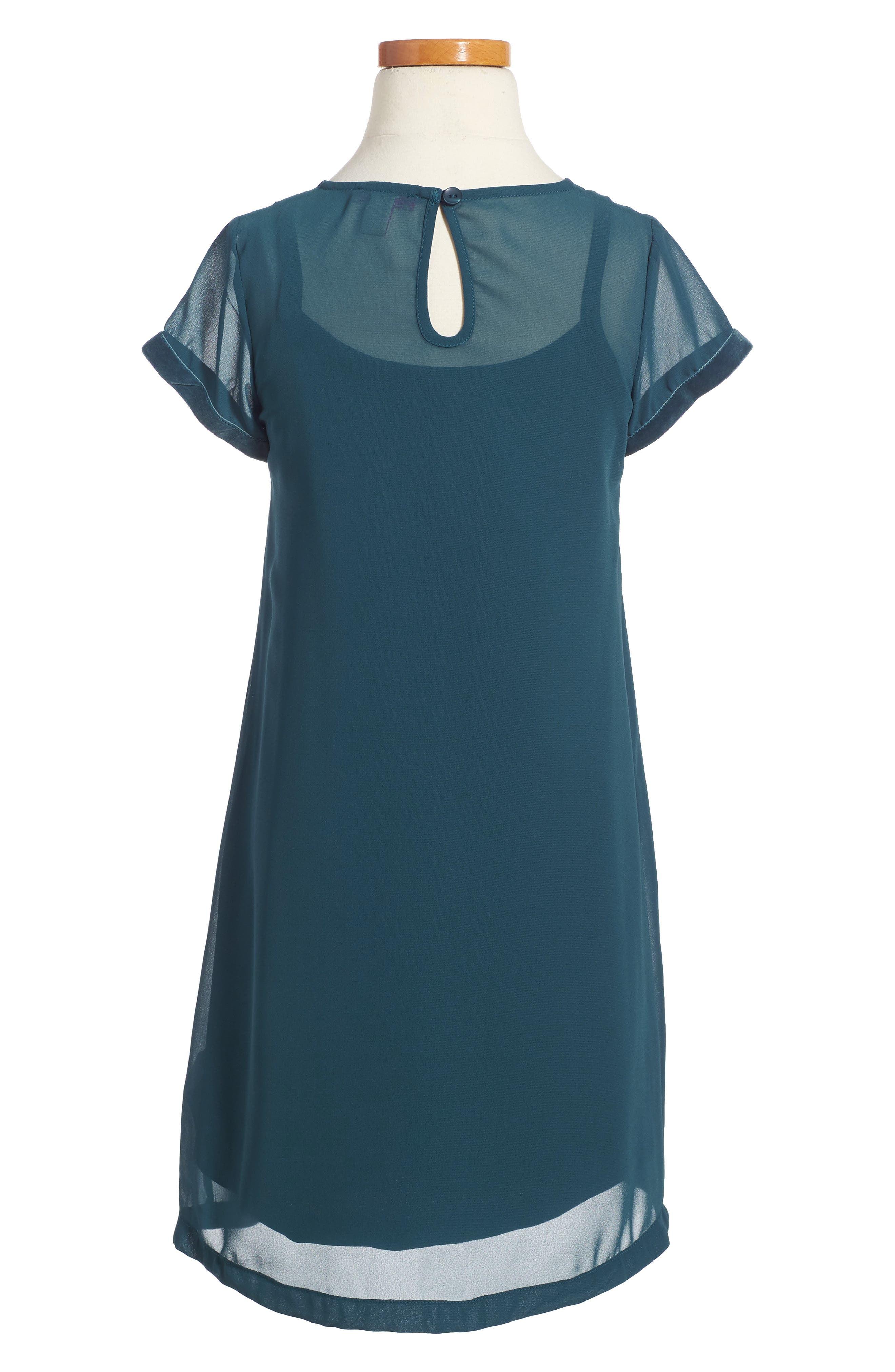 Slip Dress,                             Alternate thumbnail 2, color,                             401