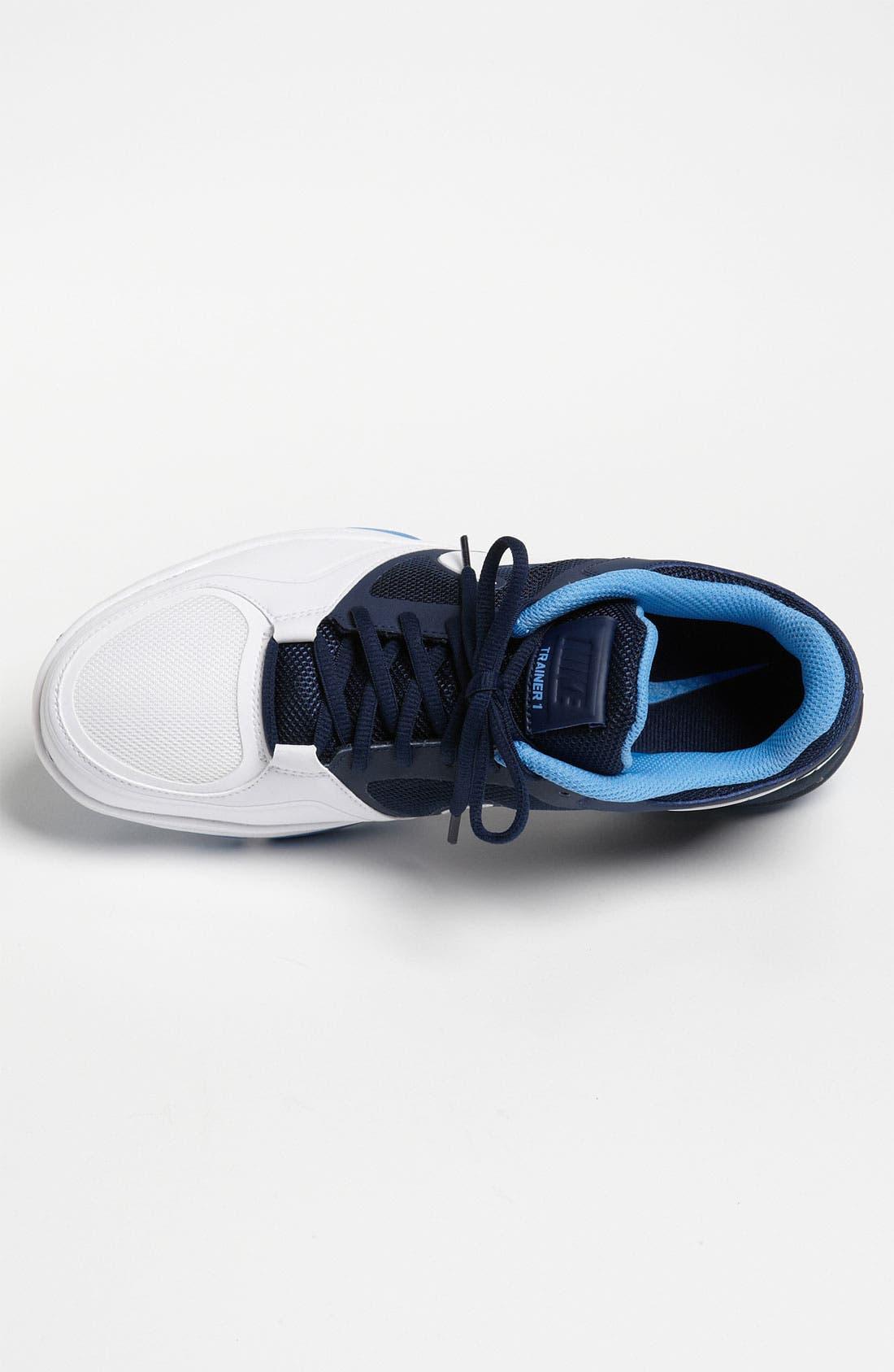 NIKE,                             'Trainer 1.3 Low' Training Shoe,                             Alternate thumbnail 4, color,                             414