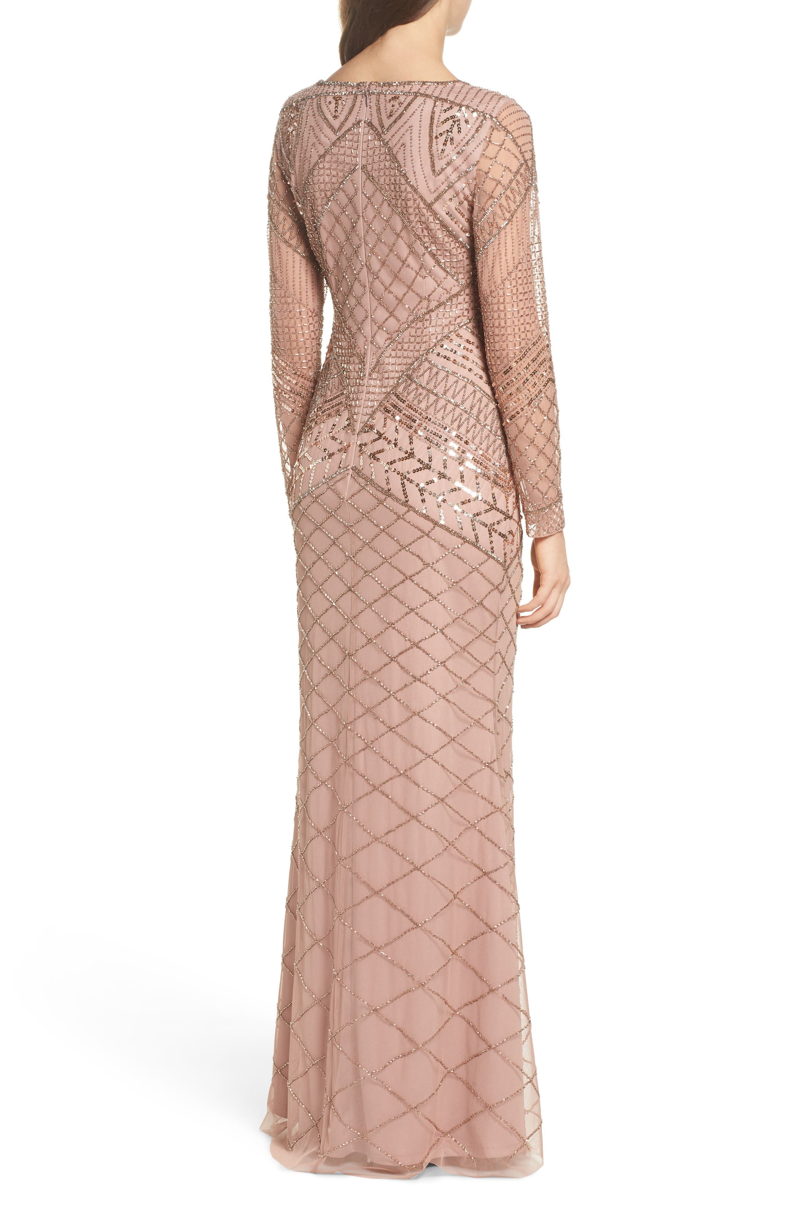 Embellished Mermaid Gown,                             Alternate thumbnail 2, color,                             658