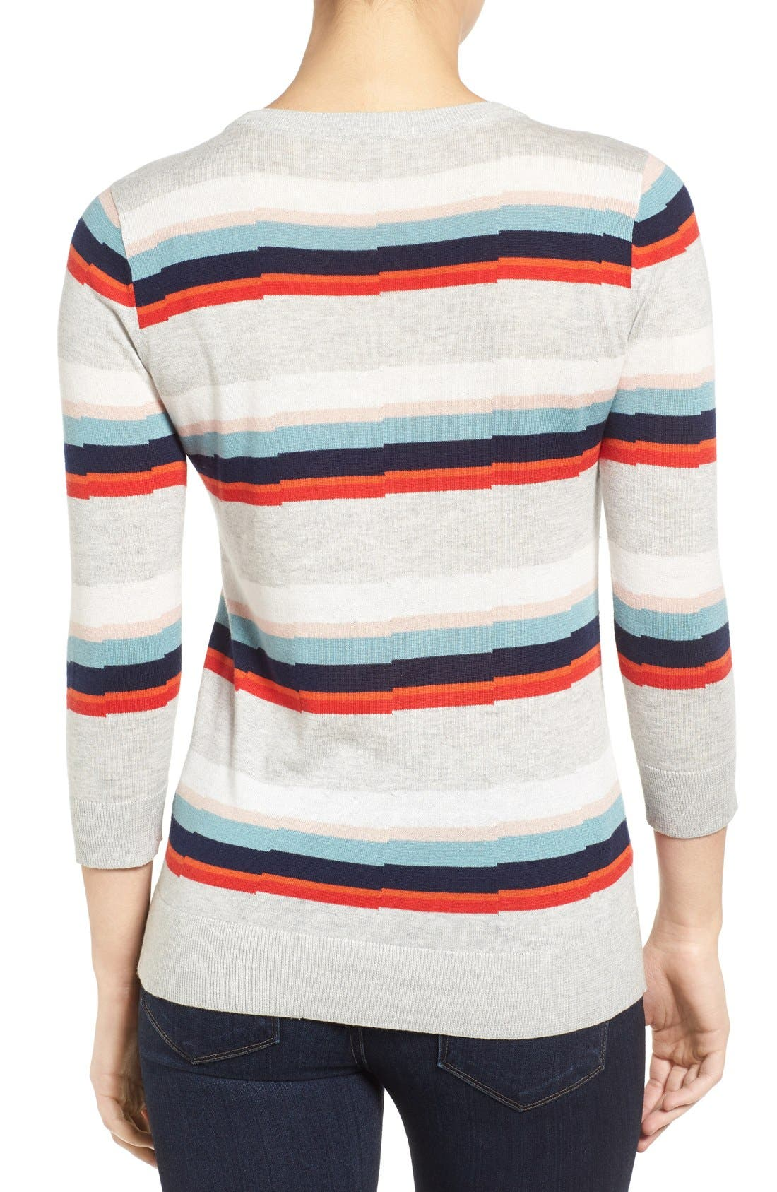 Cotton Blend Pullover,                             Alternate thumbnail 73, color,
