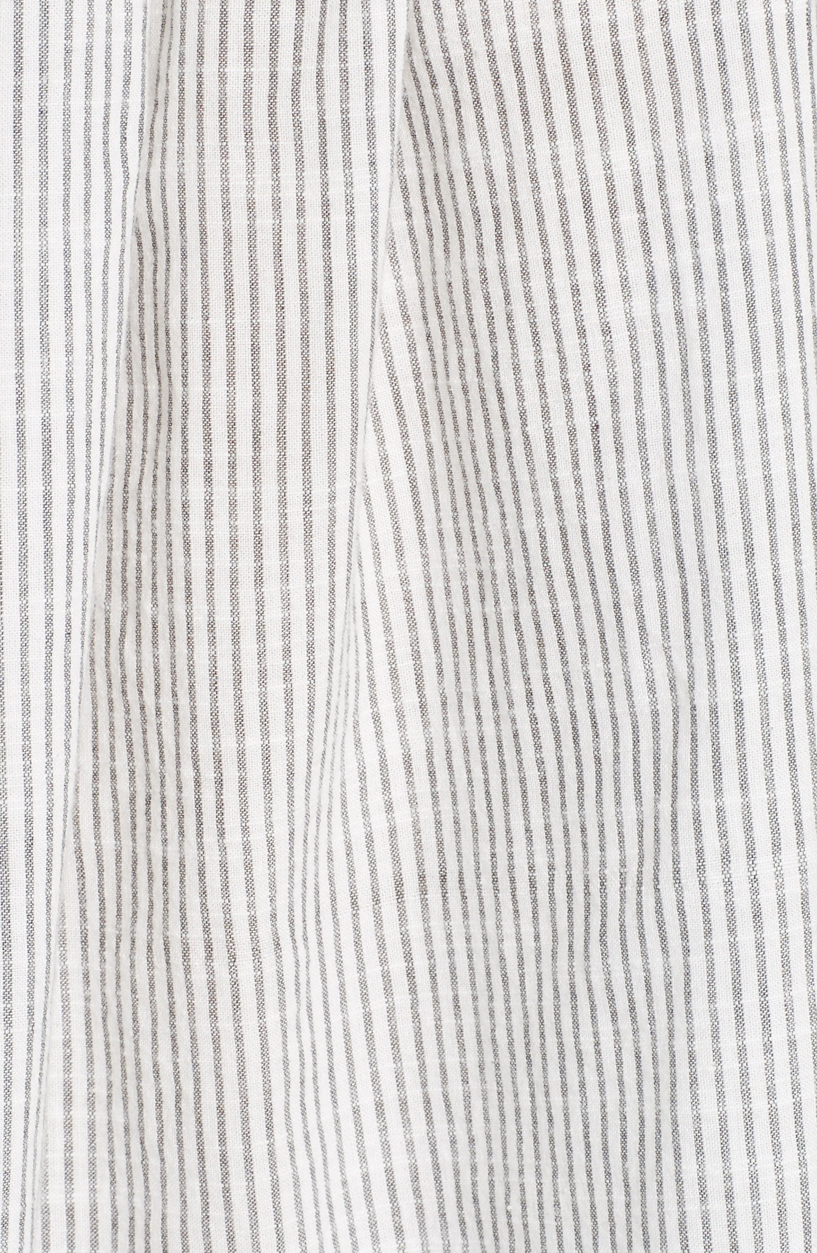 Stripe Smocked Top,                             Alternate thumbnail 5, color,                             908