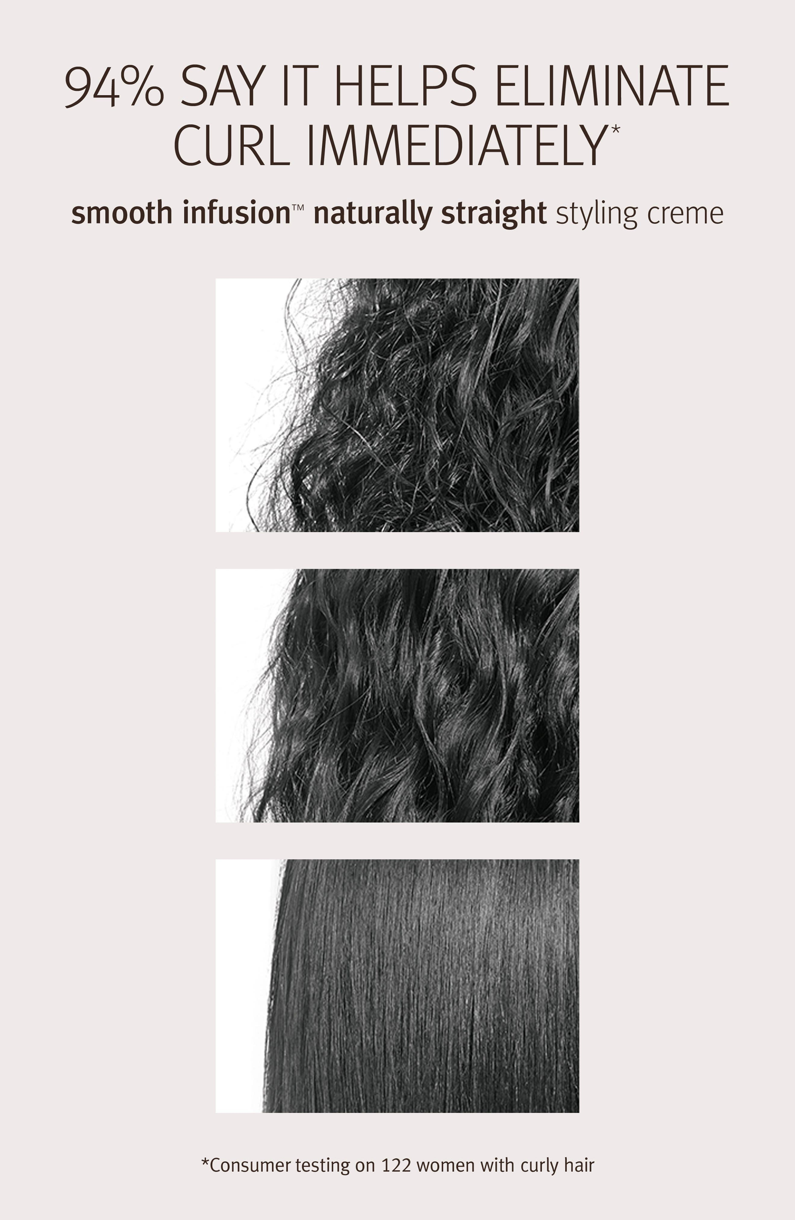 smooth infusion<sup>™</sup> Naturally Straight Hair Treatment,                             Alternate thumbnail 3, color,                             NO COLOR