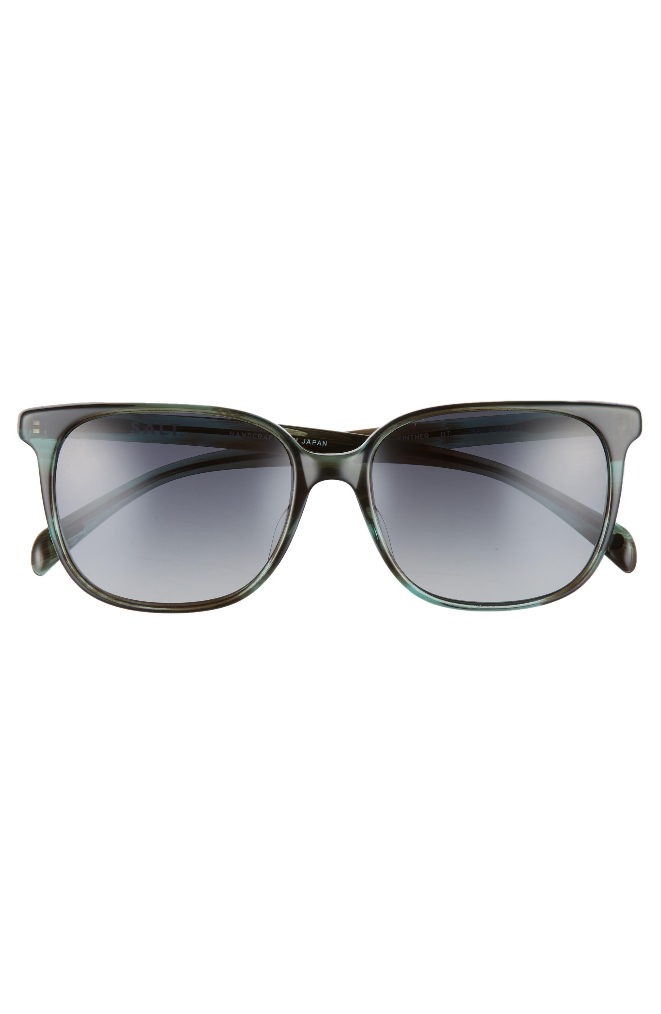 Kintner 55mm Polarized Cat Eye Sunglasses,                             Alternate thumbnail 7, color,
