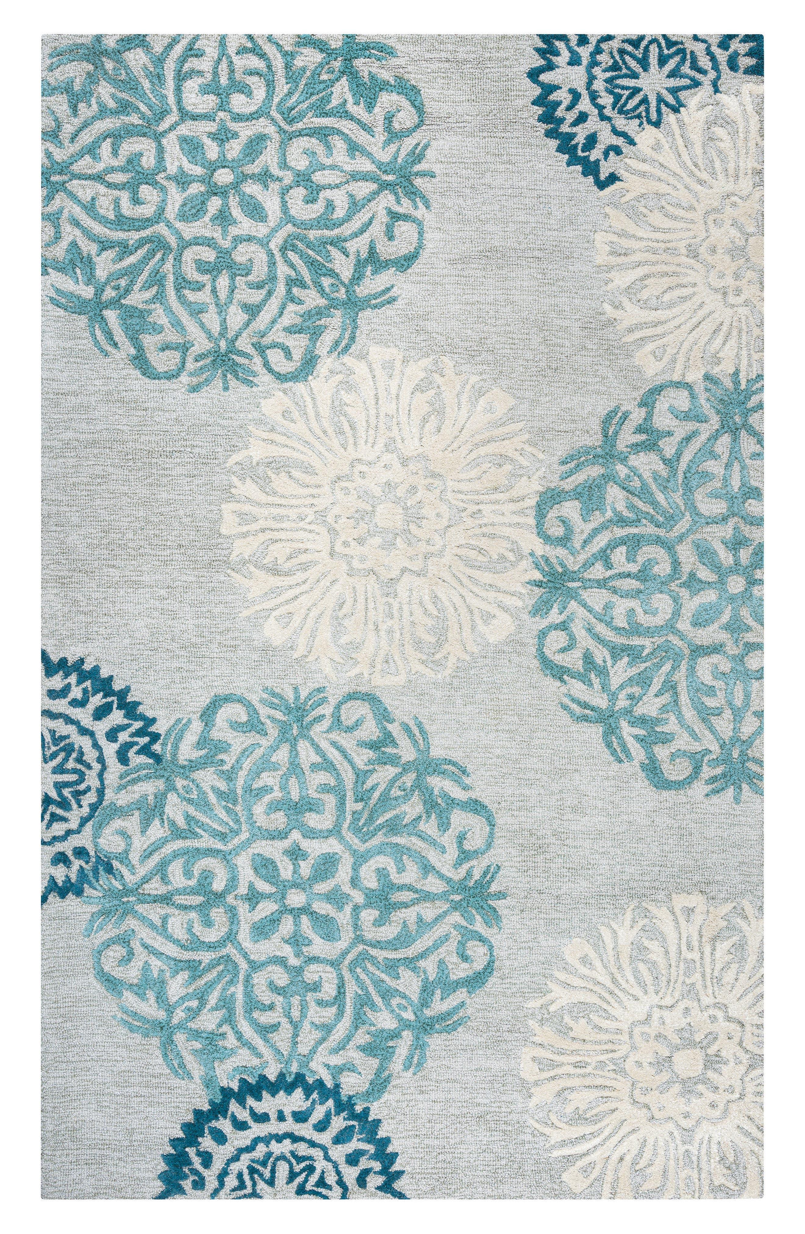 'Dimensional' Wool Area Rug,                             Main thumbnail 1, color,