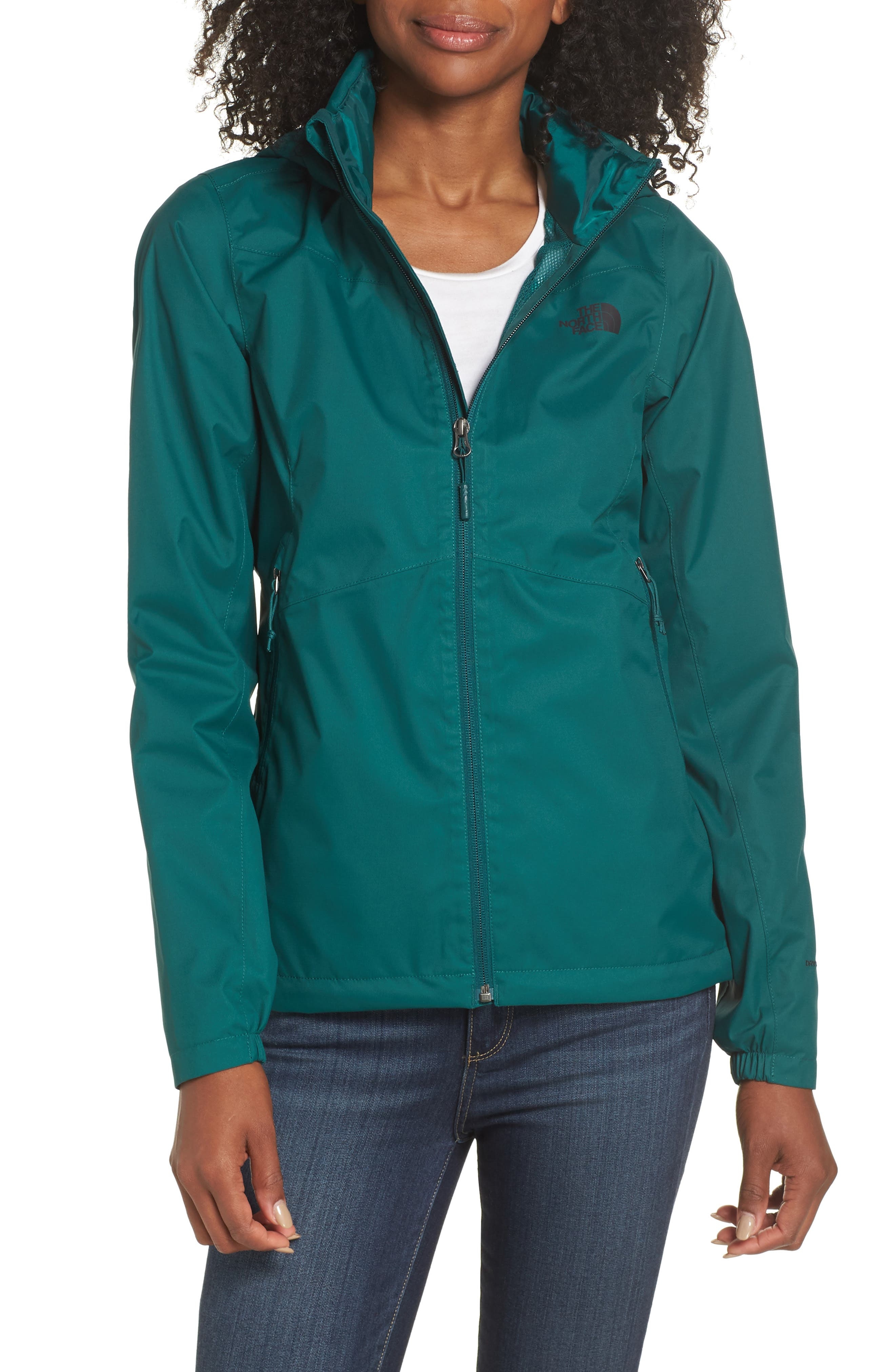 Resolve Plus Waterproof Jacket,                             Main thumbnail 1, color,                             BOTANICAL GREEN
