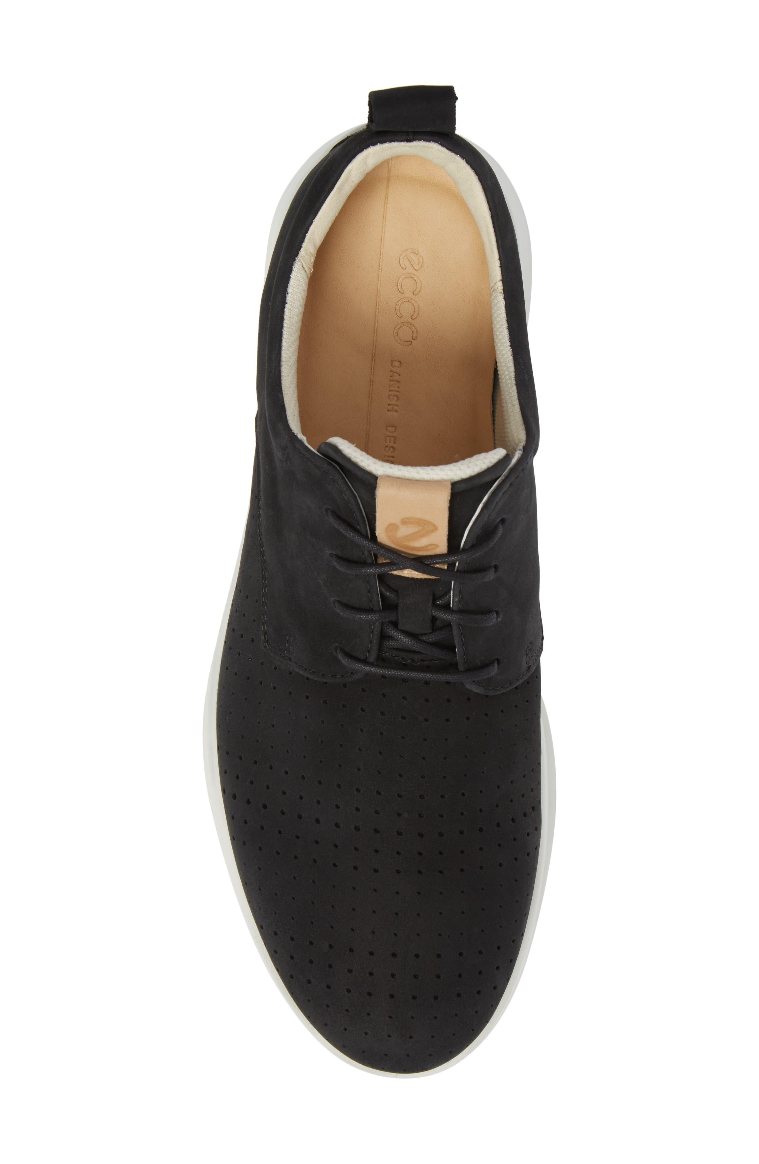 ECCO,                             Aquet Sneaker,                             Alternate thumbnail 5, color,                             007