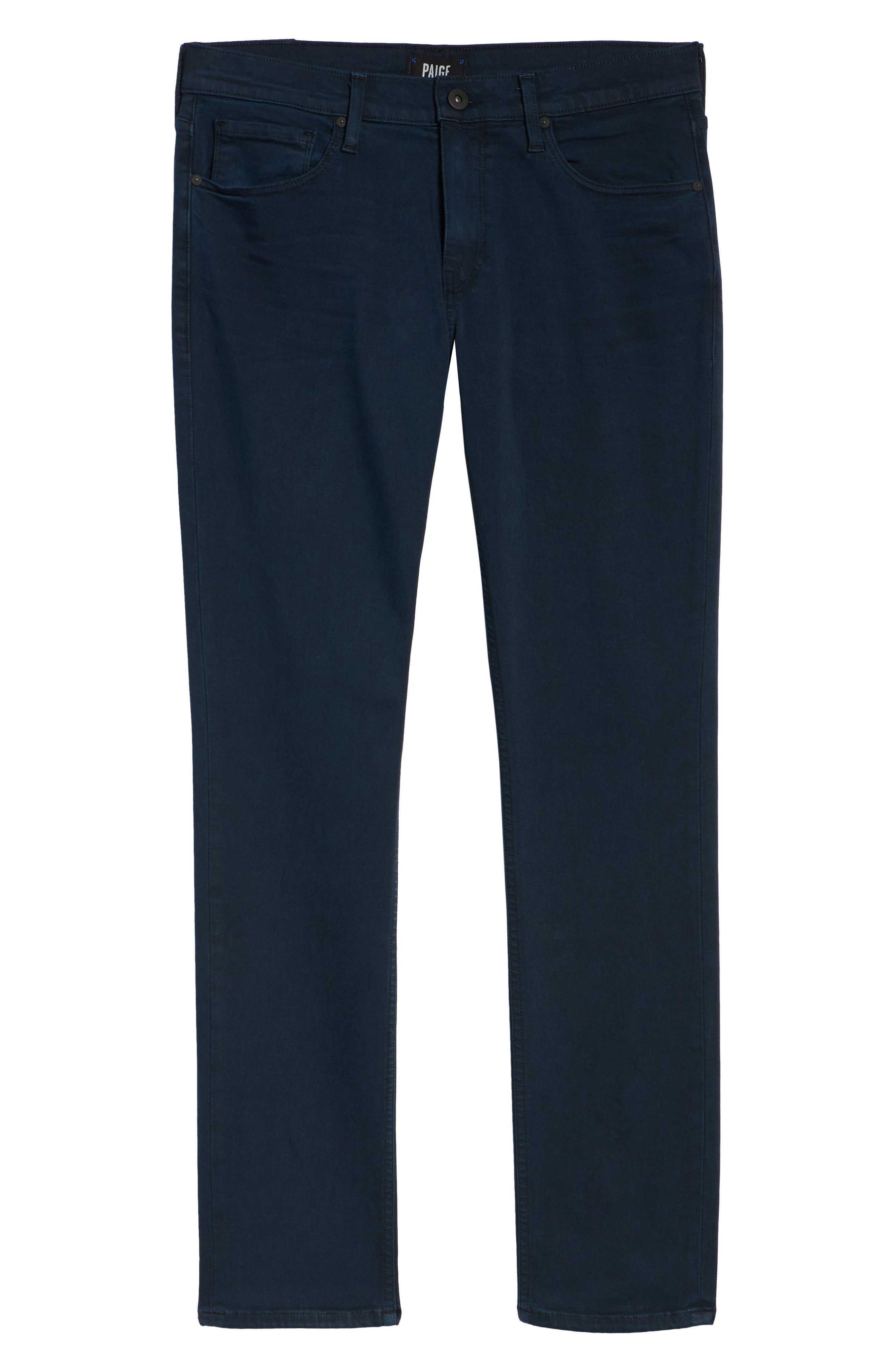 Transcend - Federal Slim Straight Leg Jeans,                             Alternate thumbnail 6, color,                             VINTAGE SKYFALL