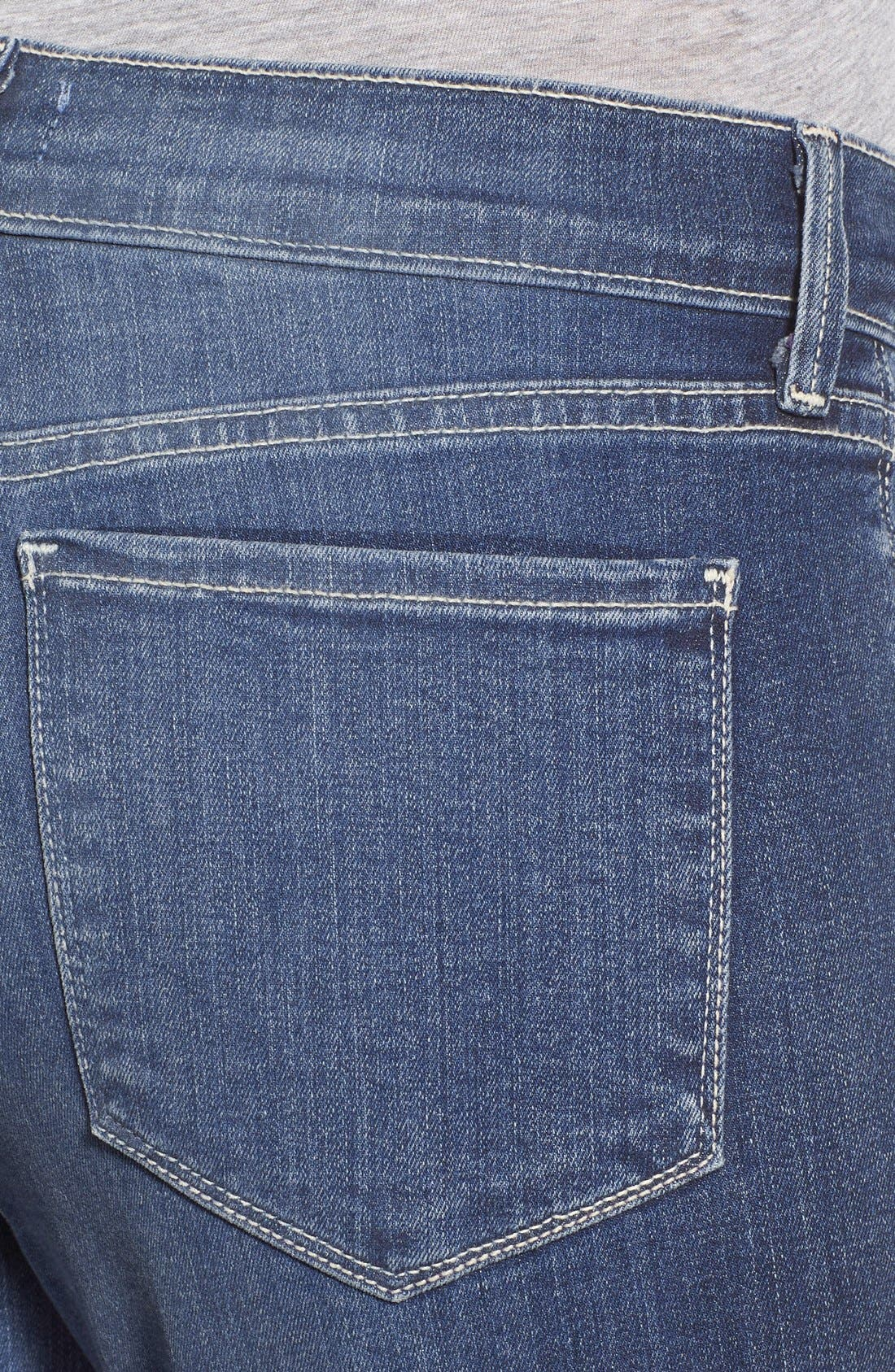 'Dayla' Colored Wide Cuff Capri Jeans,                             Alternate thumbnail 50, color,