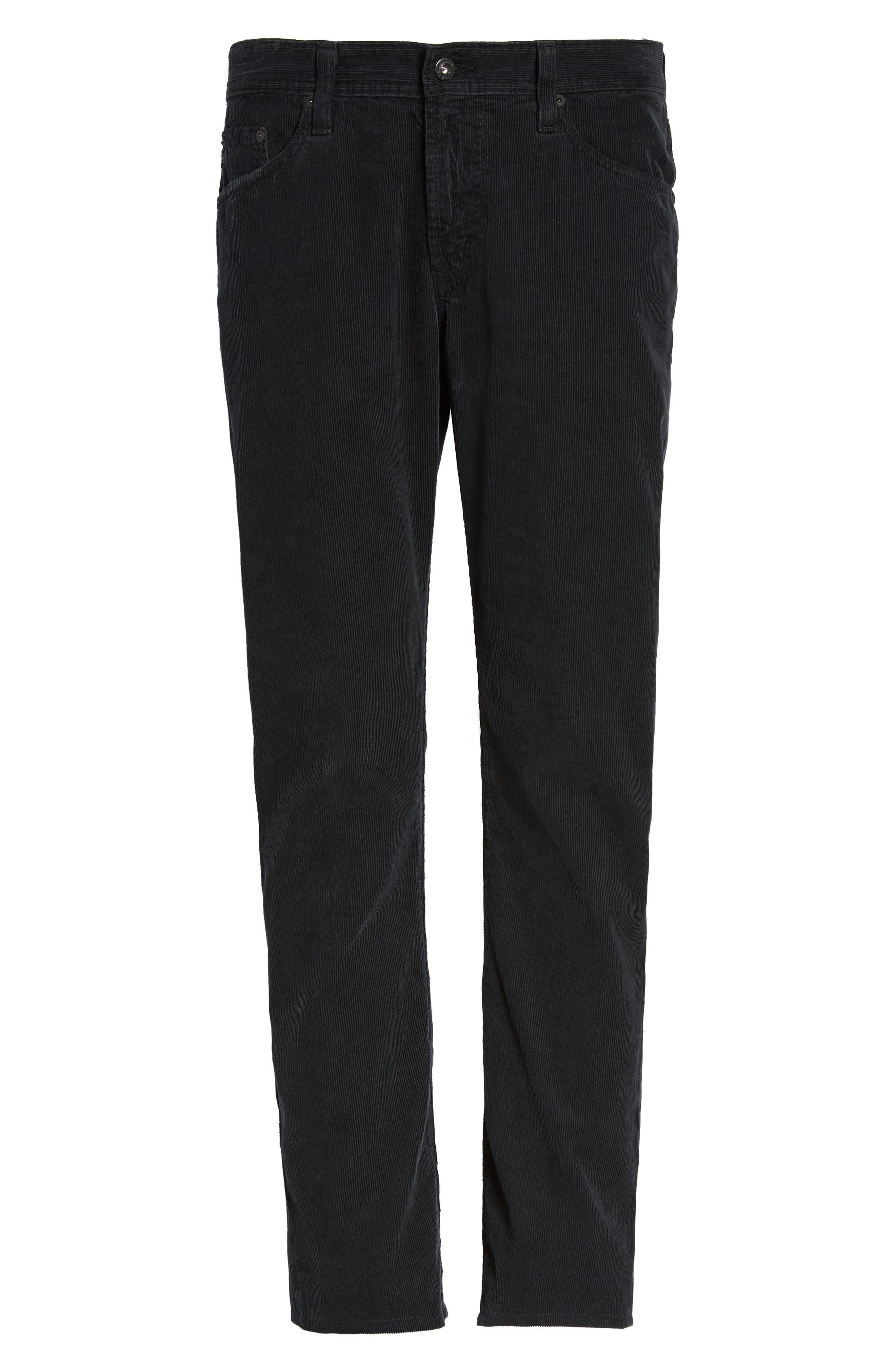 'Graduate' Tailored Straight Leg Corduroy Pants,                             Alternate thumbnail 6, color,                             017