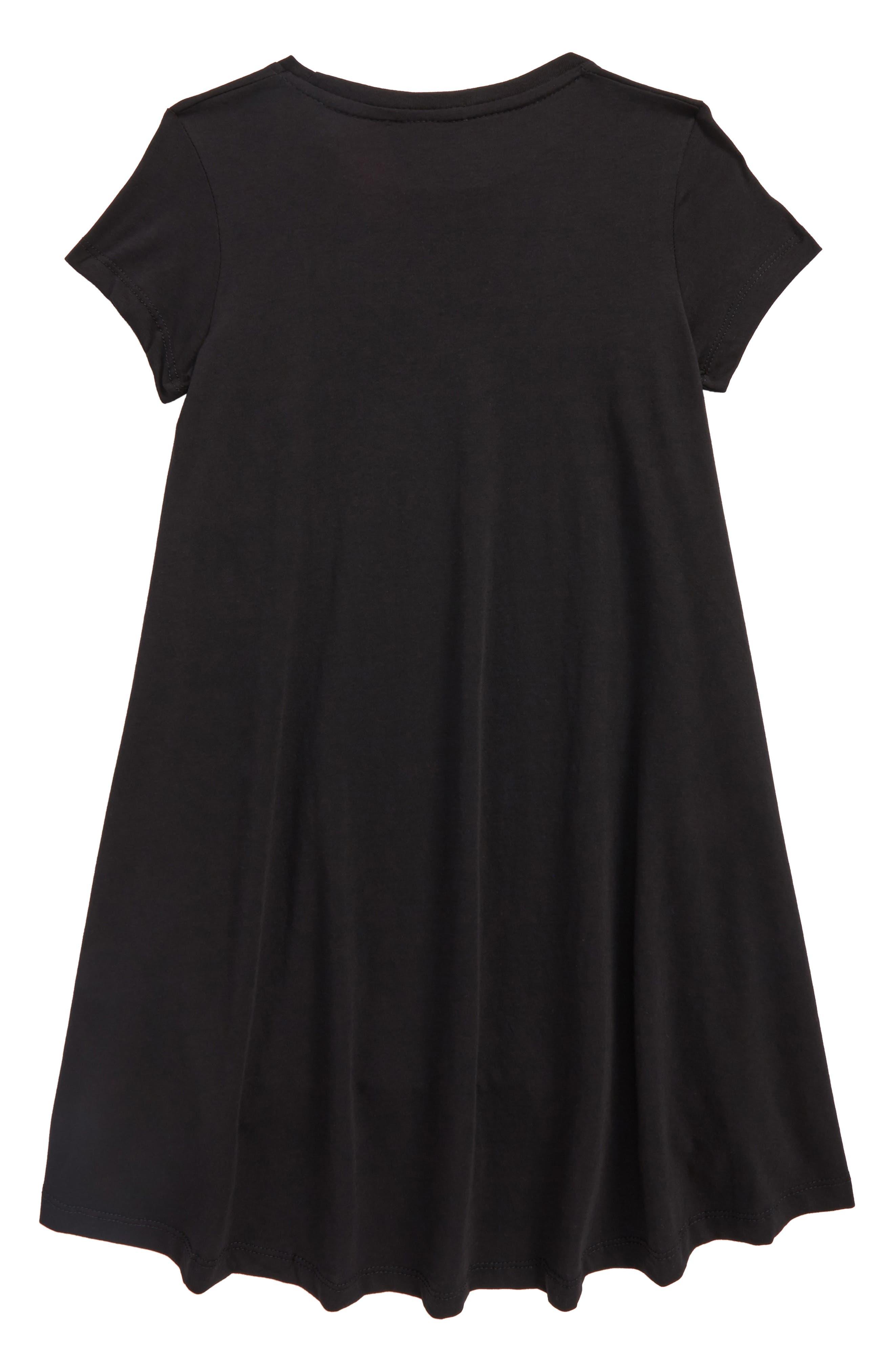Dark Side of the Moon Twirl Dress,                             Alternate thumbnail 2, color,                             001