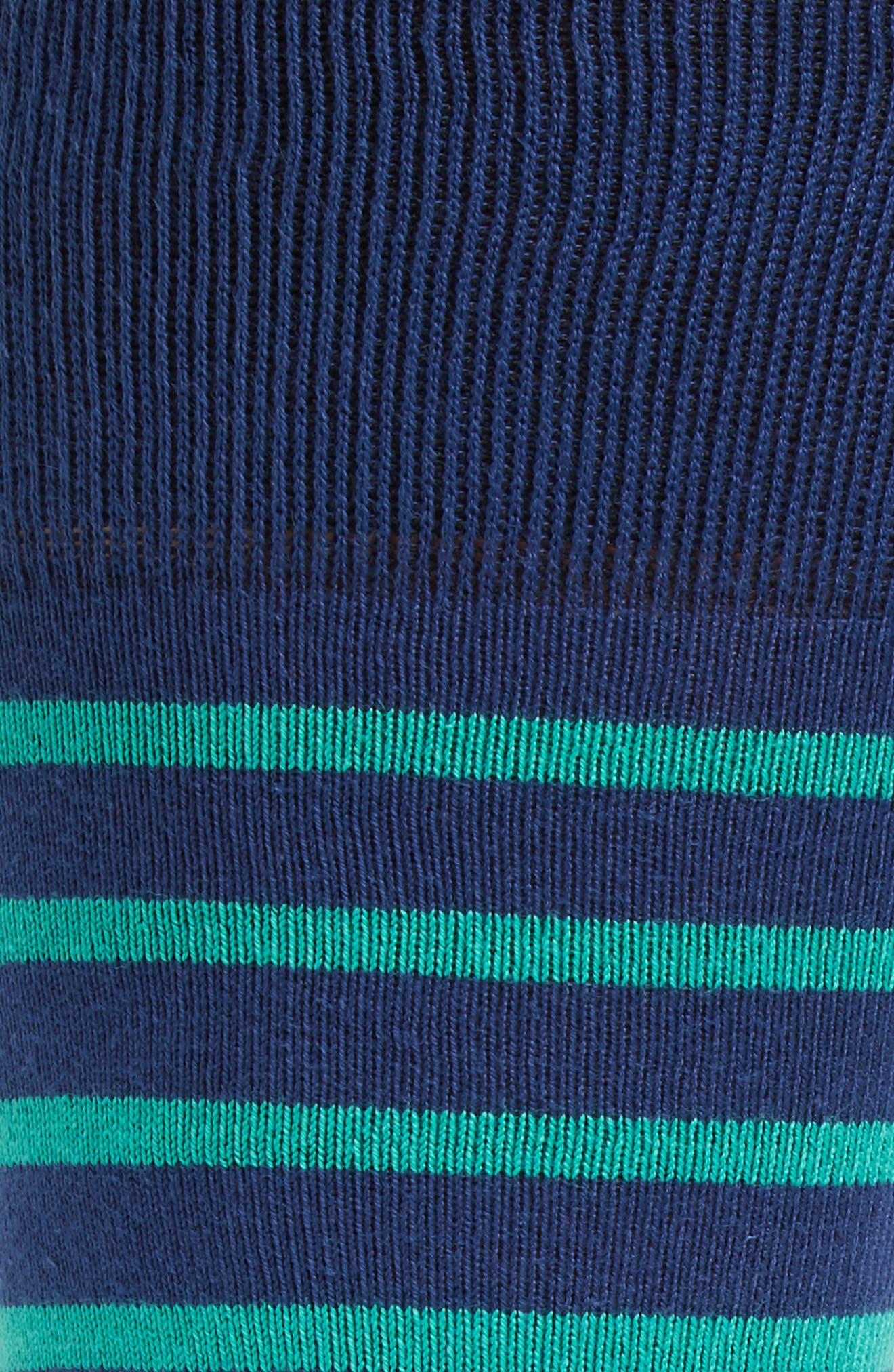 Ray Stripe Socks,                             Alternate thumbnail 2, color,