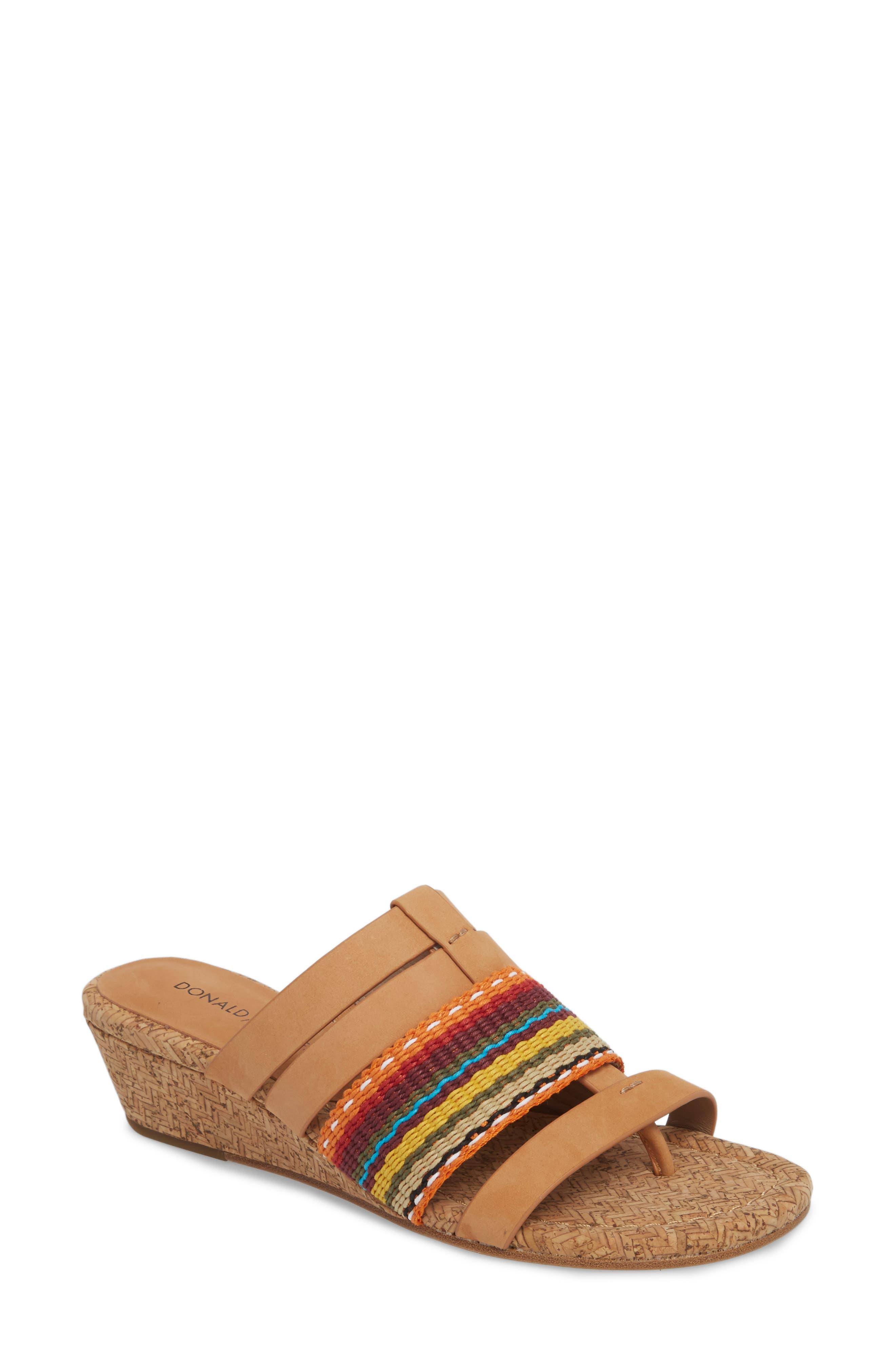 Dara Wedge Sandal,                             Main thumbnail 1, color,
