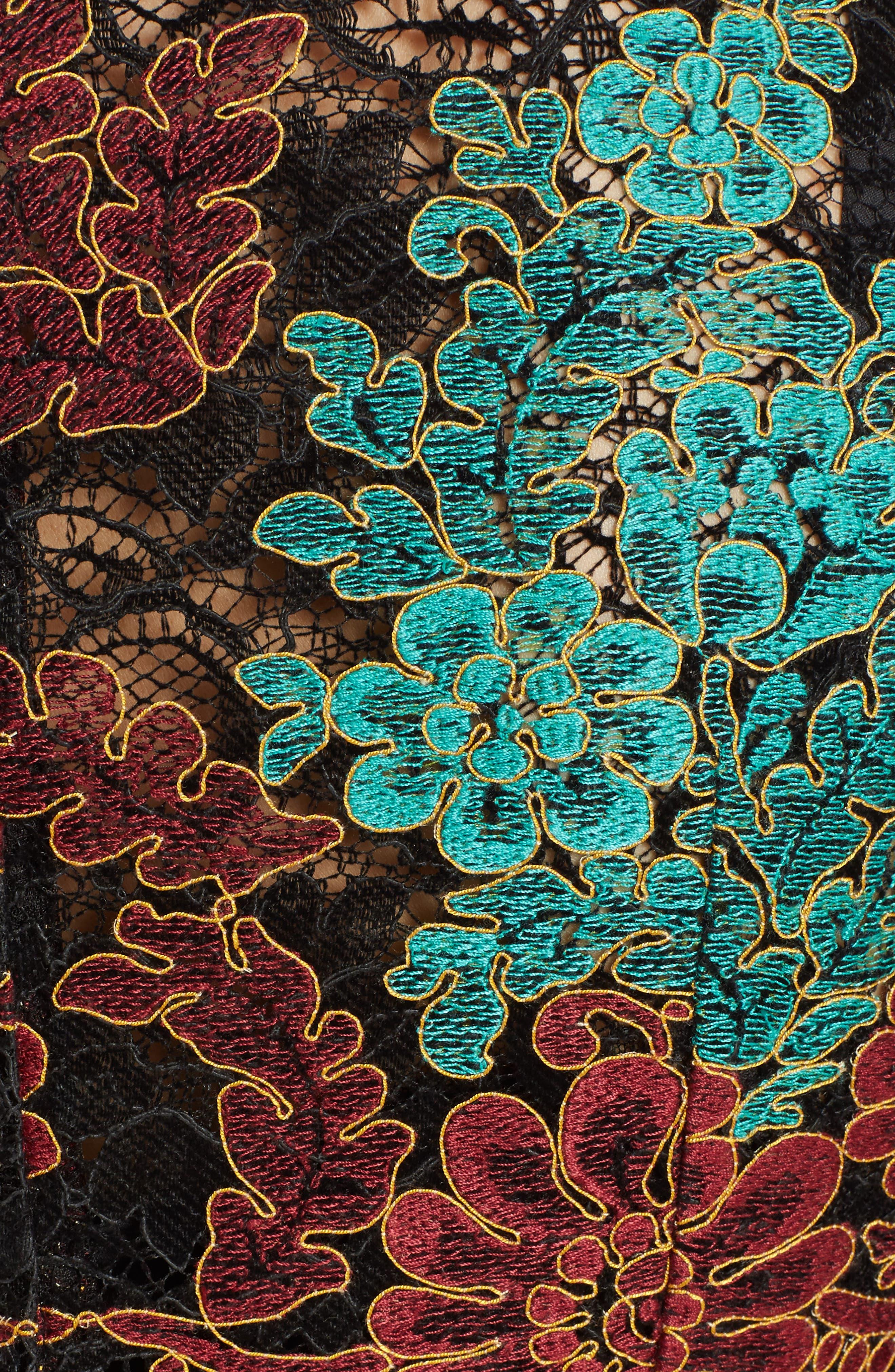 Lace Minidress,                             Alternate thumbnail 5, color,                             930