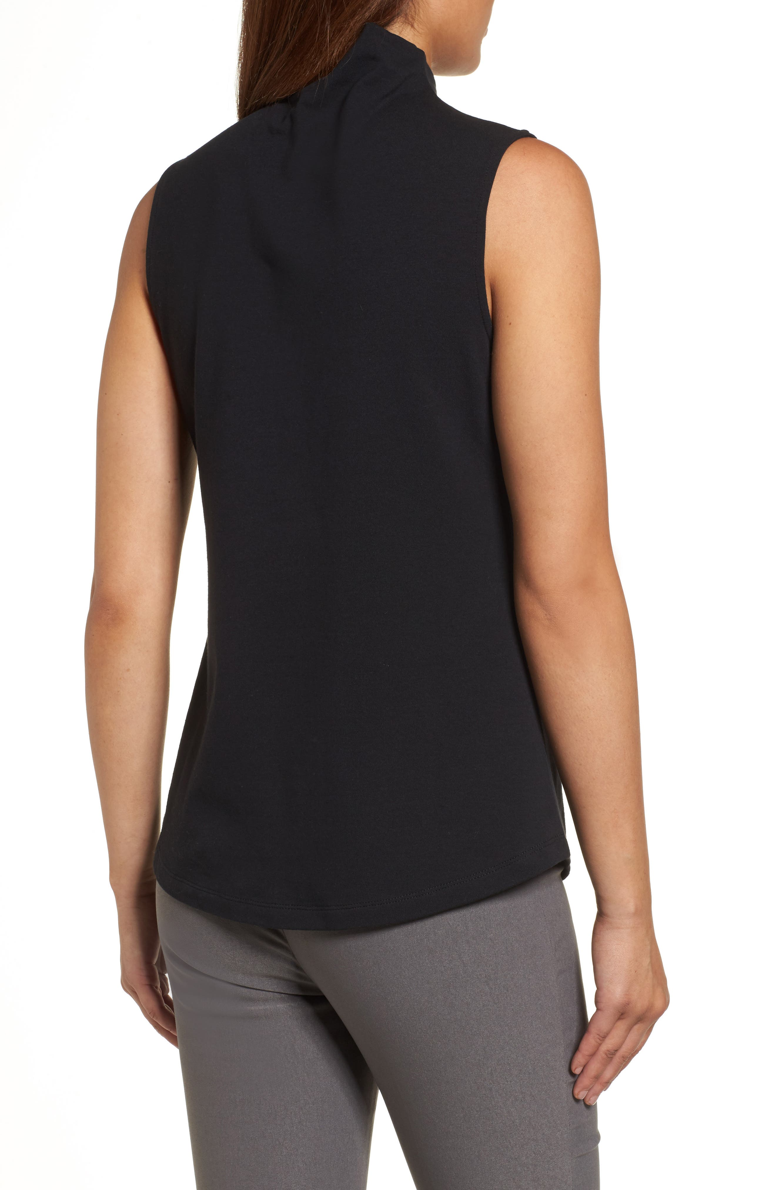The Perfect Mock Neck Top,                             Alternate thumbnail 8, color,