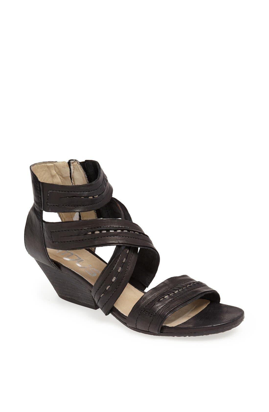 'Kenzie' Sandal, Main, color, 001