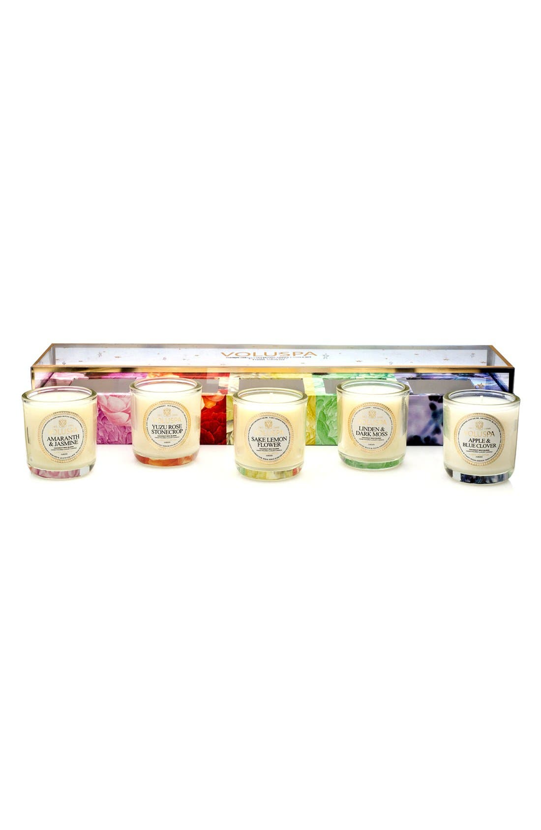 Maison Jardin Votive Candle Set,                         Main,                         color,