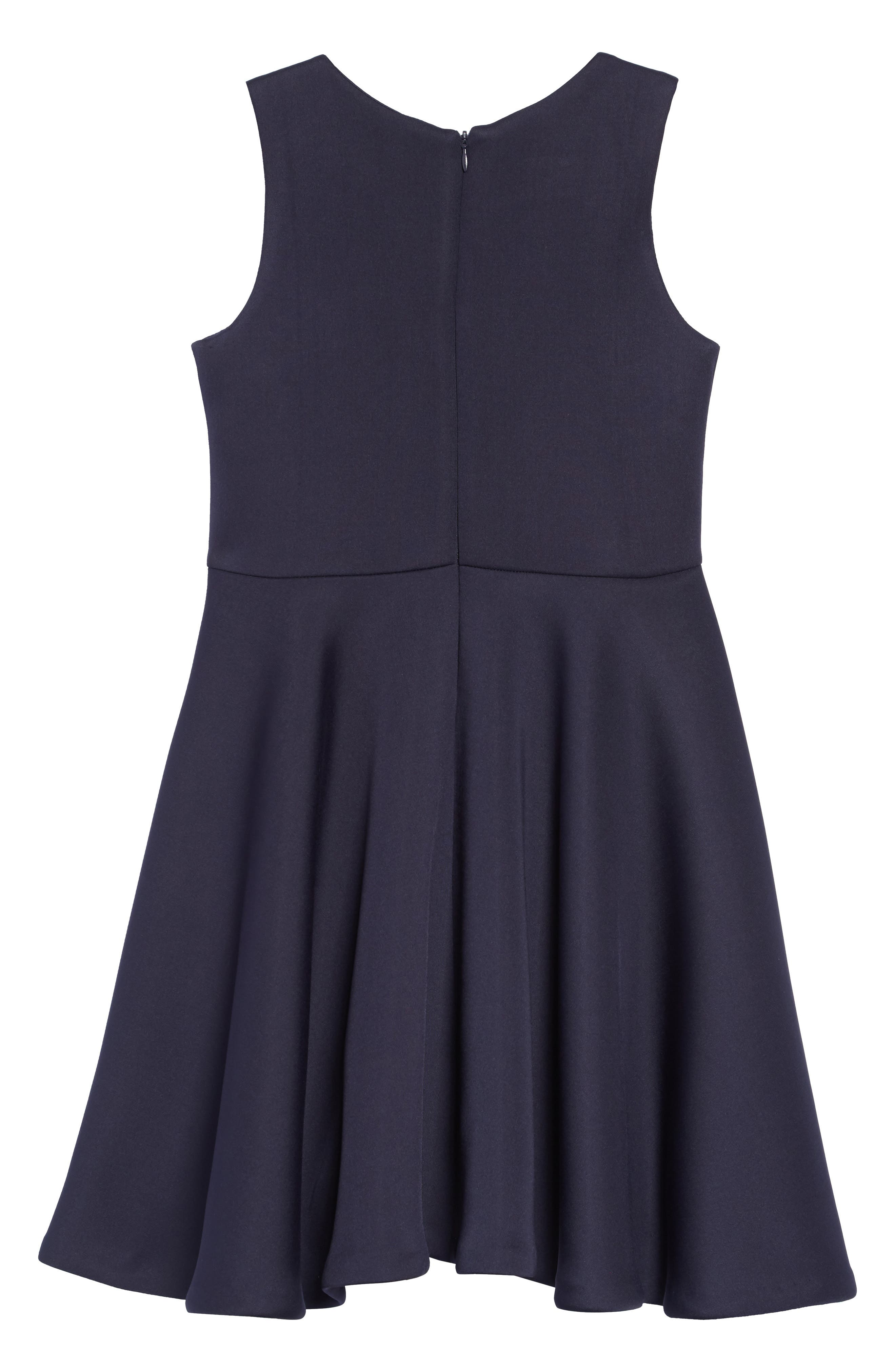 Scuba Tank Dress,                             Alternate thumbnail 2, color,                             NAVY