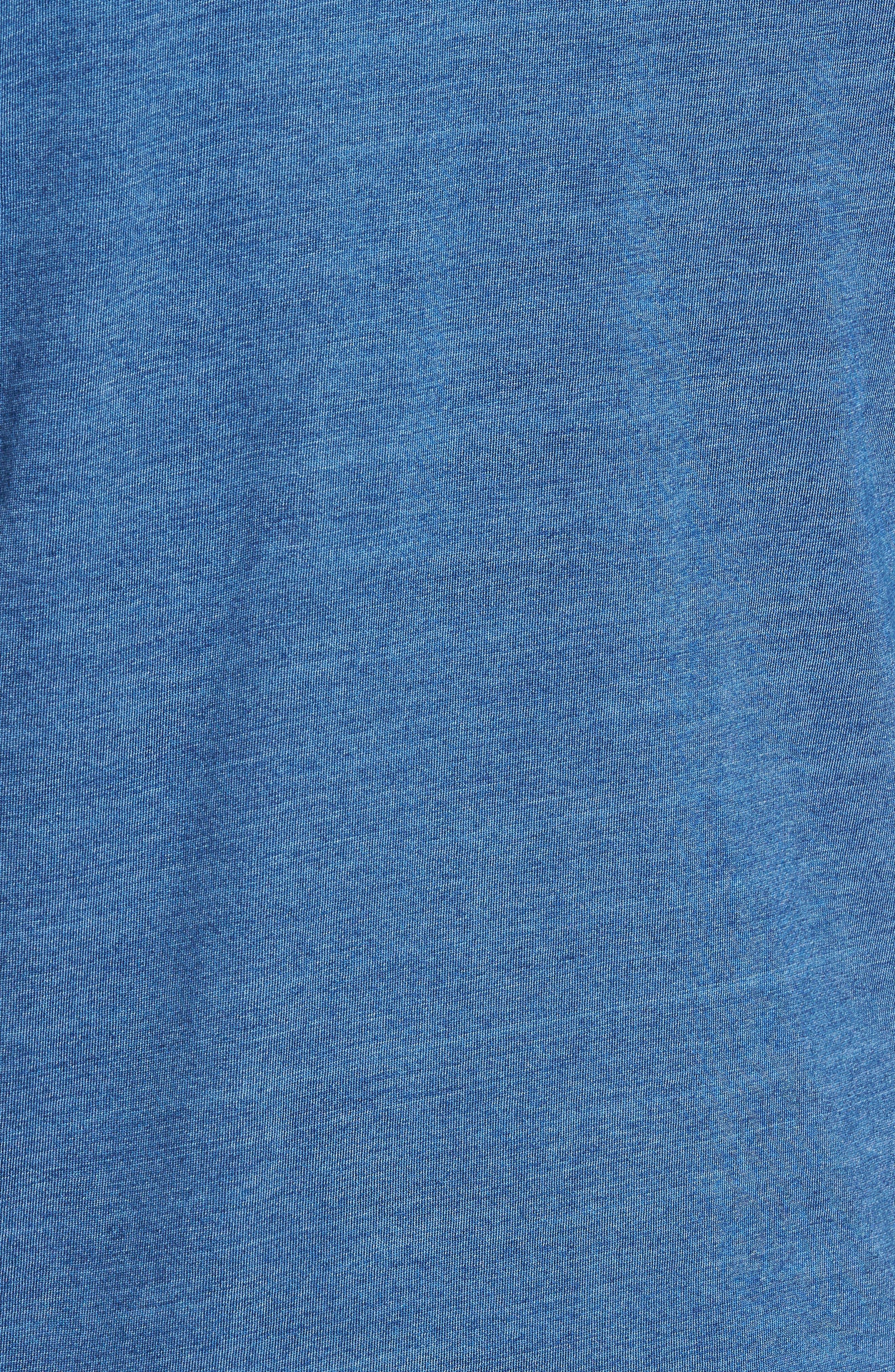 Split Hem Crewneck T-Shirt,                             Alternate thumbnail 5, color,                             432