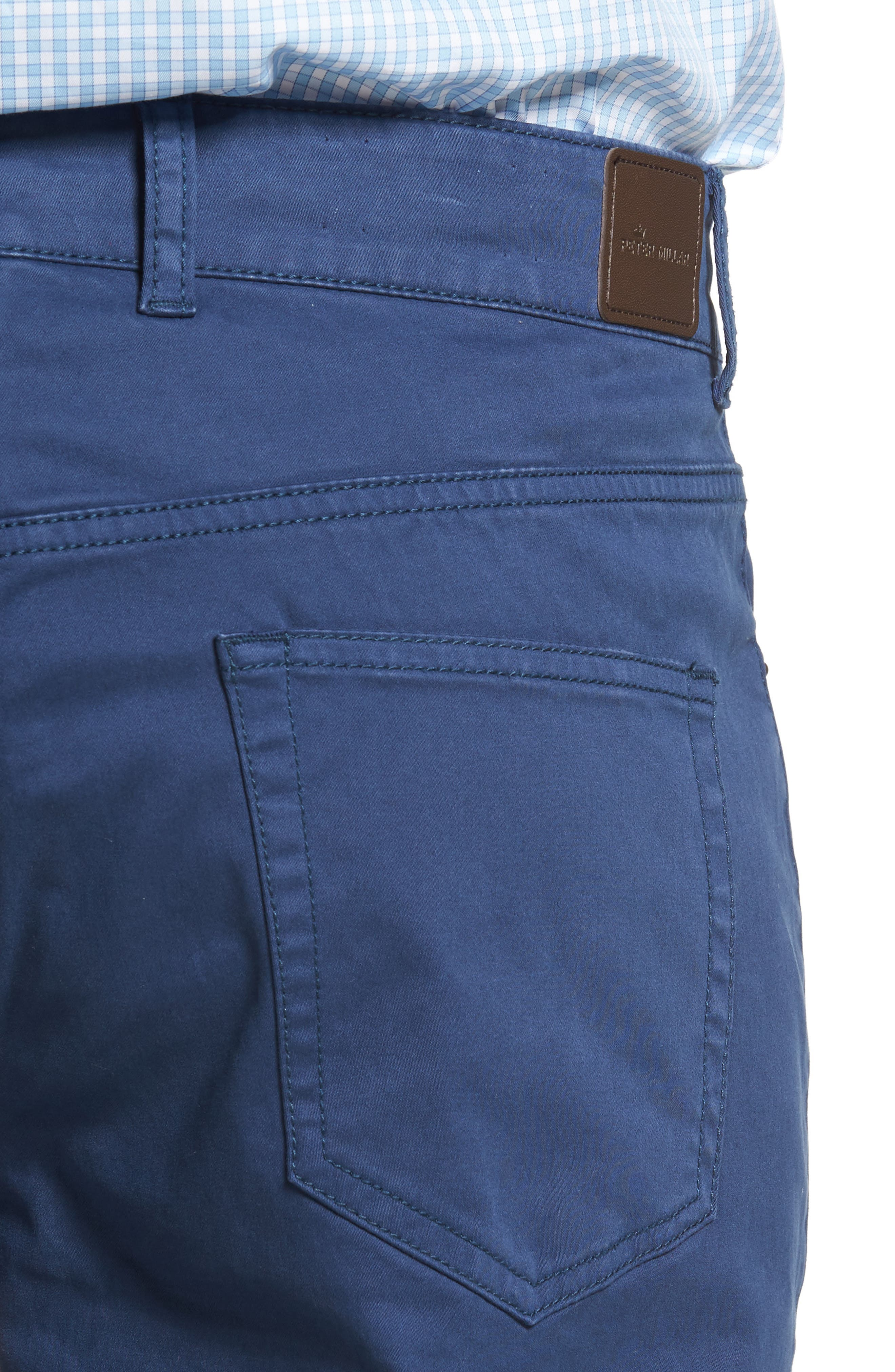 Stretch Sateen Five-Pocket Pants,                             Alternate thumbnail 16, color,