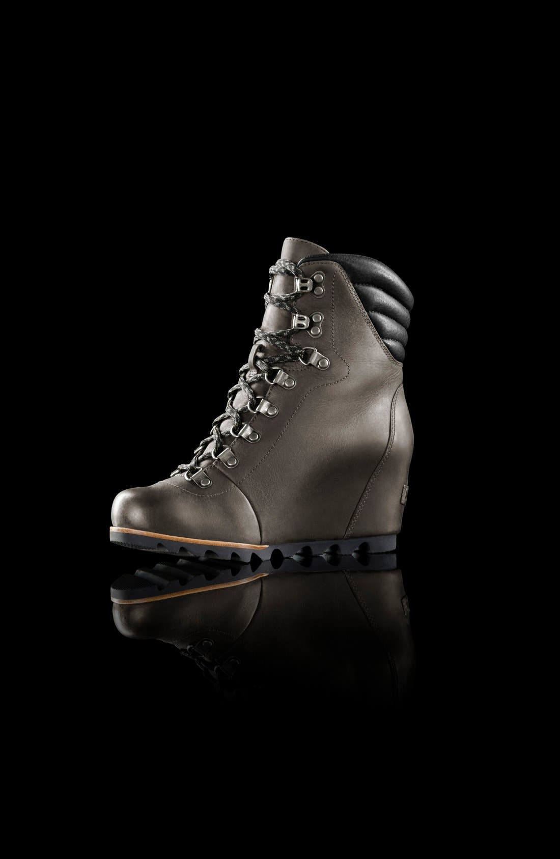 'Conquest' Waterproof Wedge Boot,                             Alternate thumbnail 8, color,