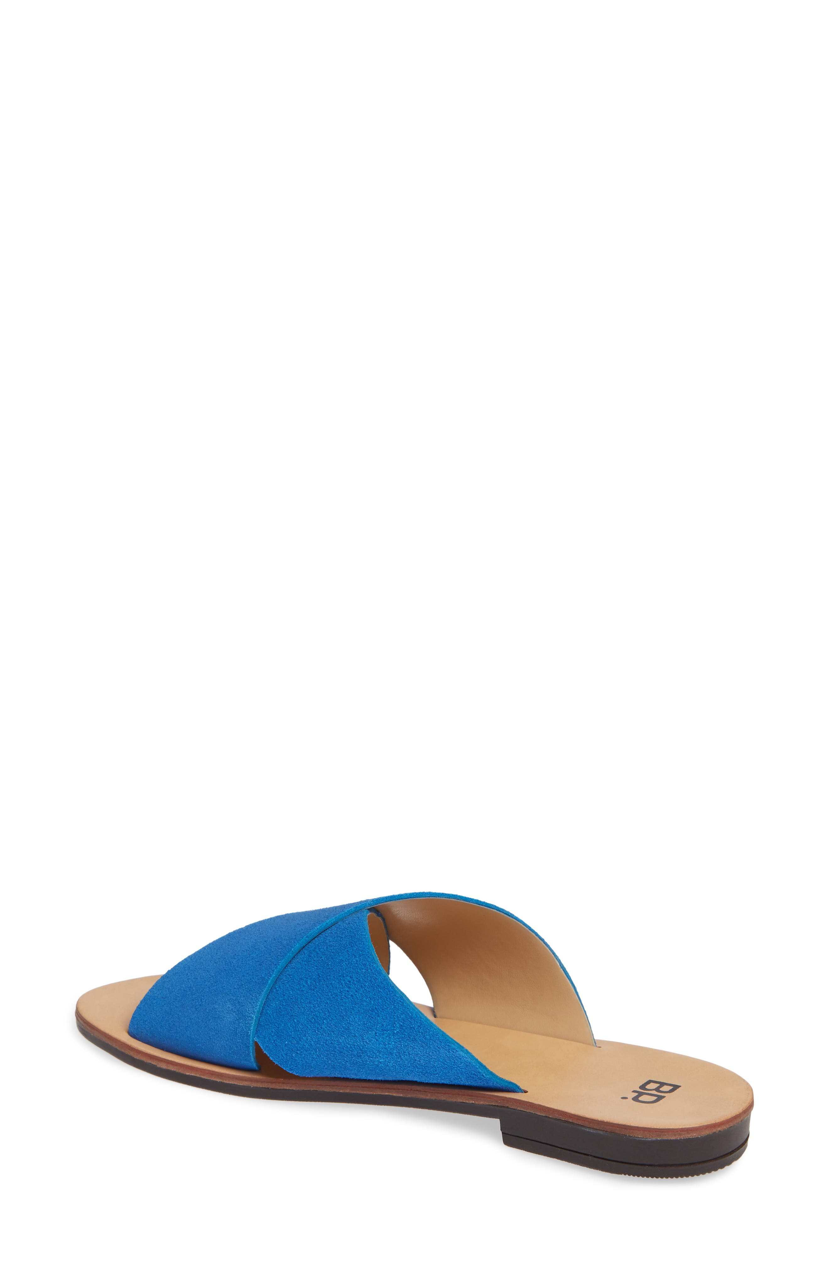 Twist Cross Strap Sandal,                             Alternate thumbnail 2, color,                             410