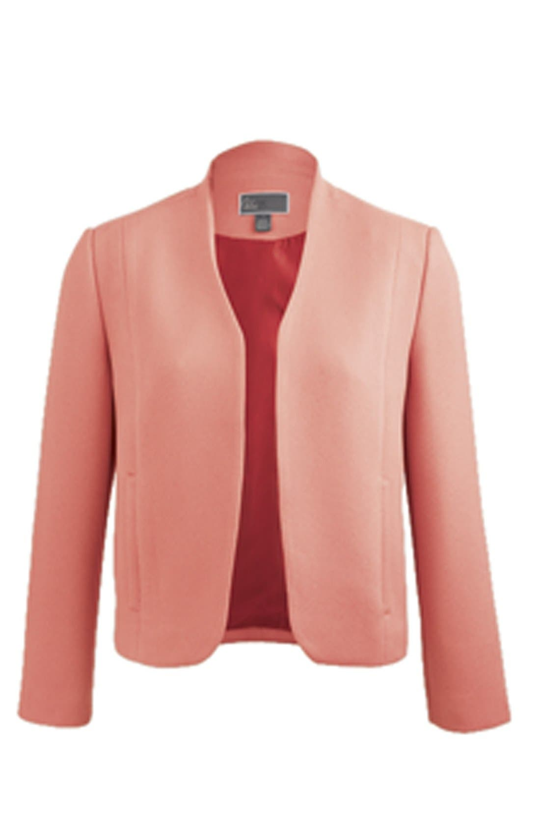 Textured Shell Jacket,                             Alternate thumbnail 7, color,                             410