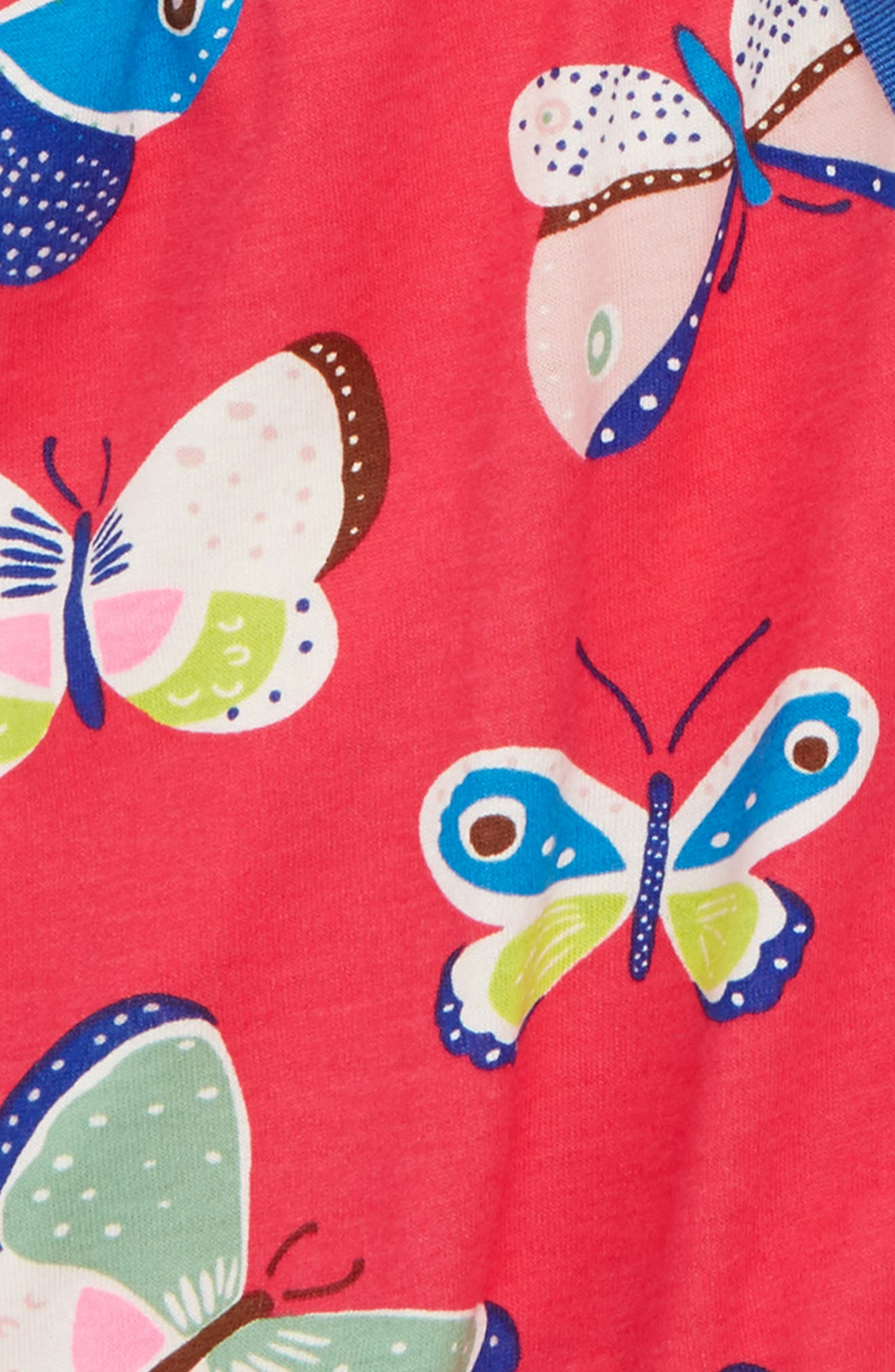 Butterfly Jersey Romper,                             Alternate thumbnail 2, color,                             614